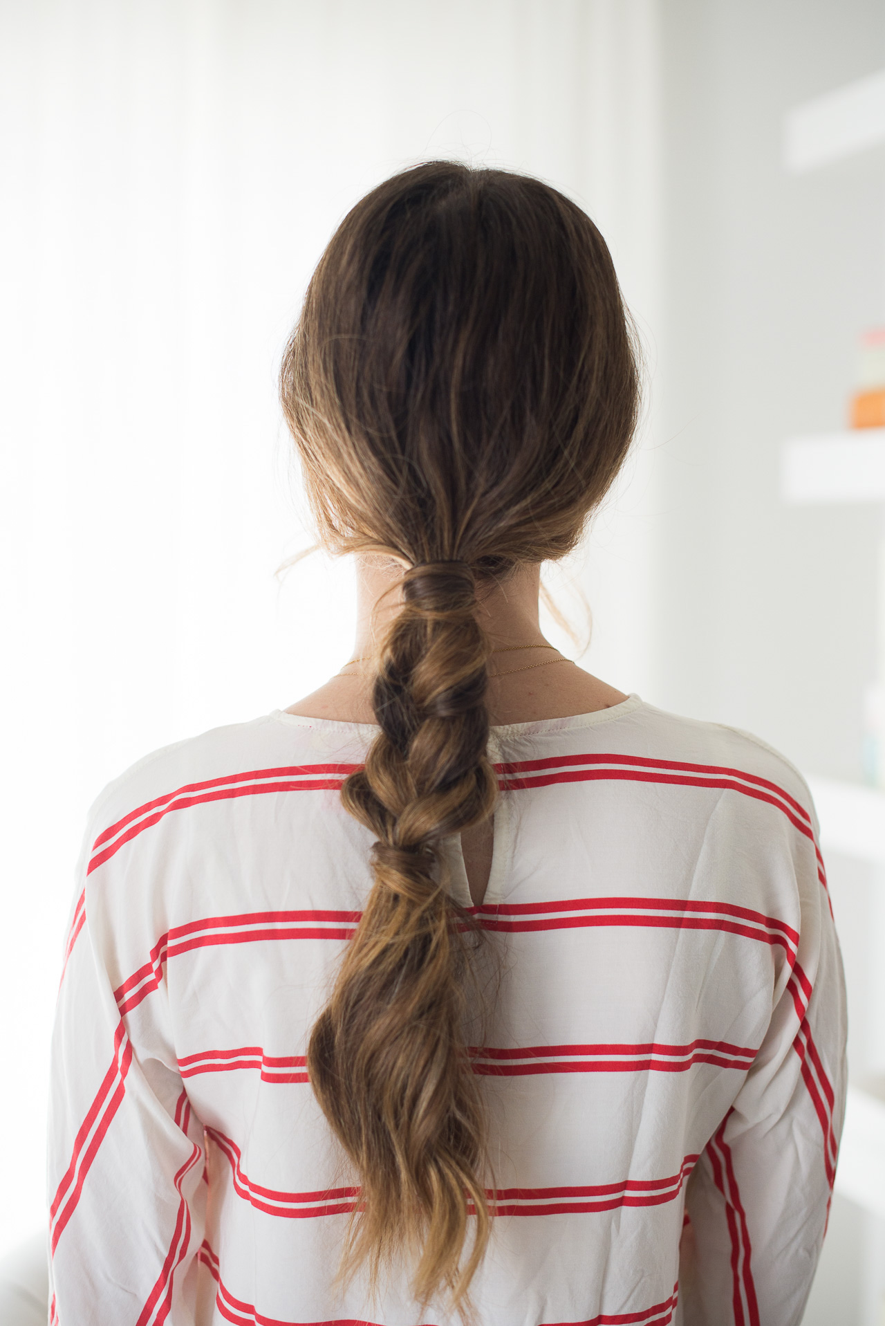 This easy on the go braid will have you ready for summer in no time - @marmar
