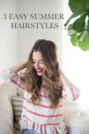 3 easy summer hairstyles | M Loves M - @marmar