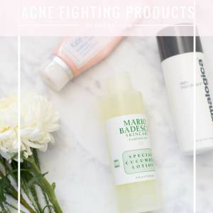 my must-have acne fighting products - M Loves M @marmar
