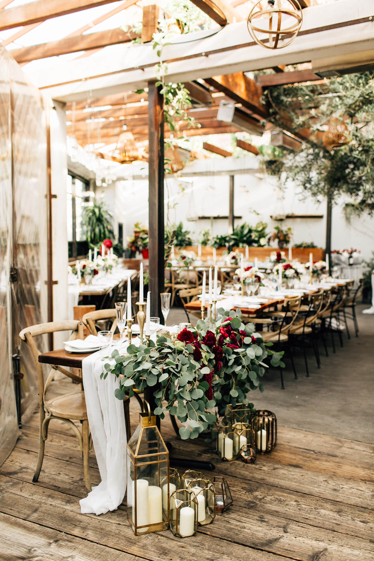 wedding reception at madera kitchen