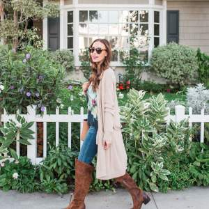 styling over-the-knee boots for fall - M Loves M @marmar