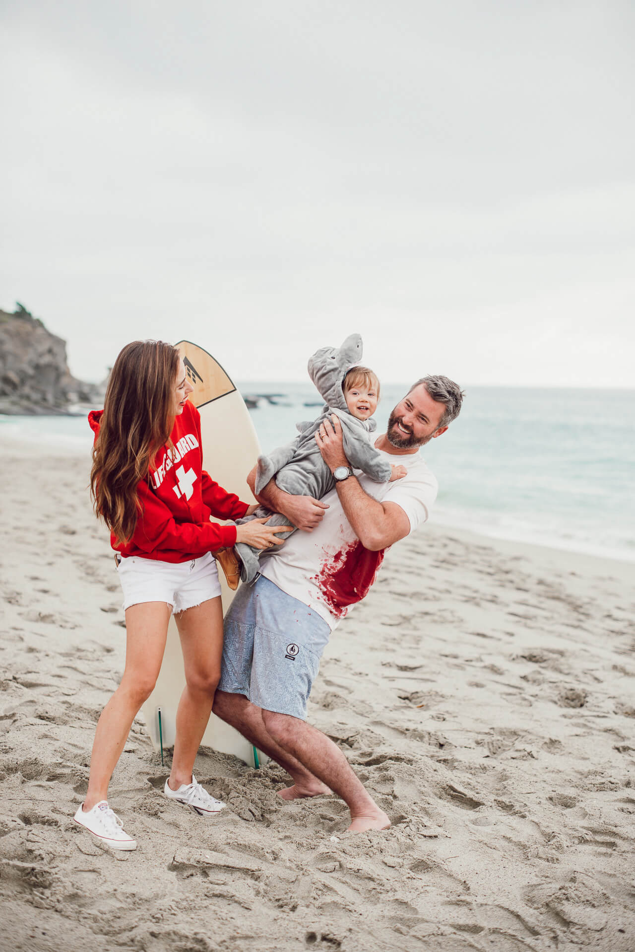 shark, surfer and lifeguard family halloween costume - M Loves M