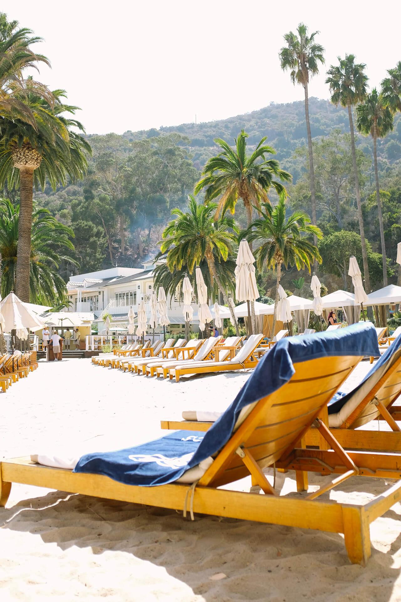 descasno beach club on Catalina Island