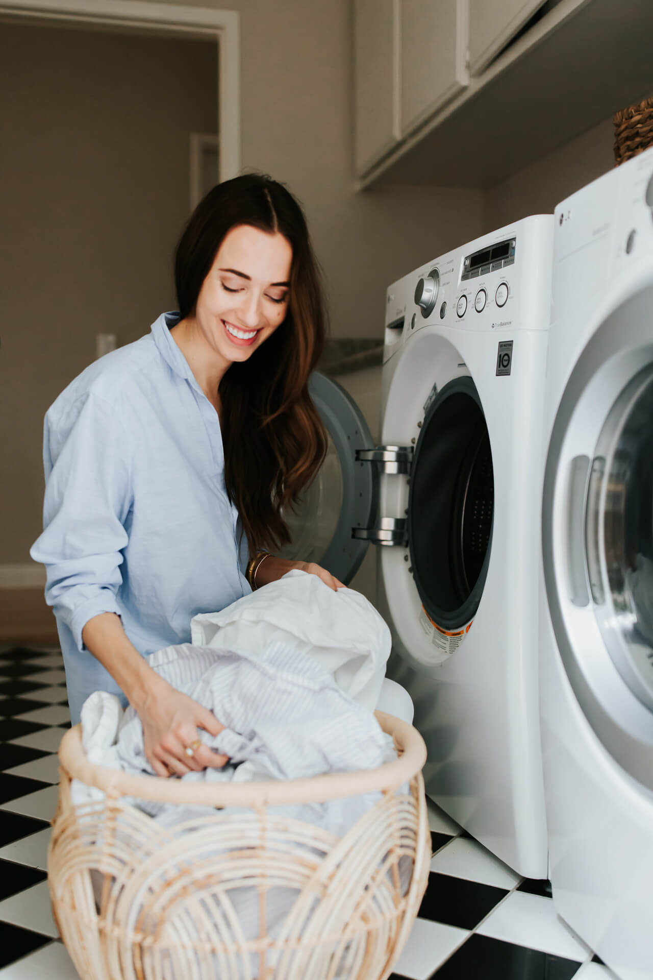 tip 1 for doing laundry, always wash cold
