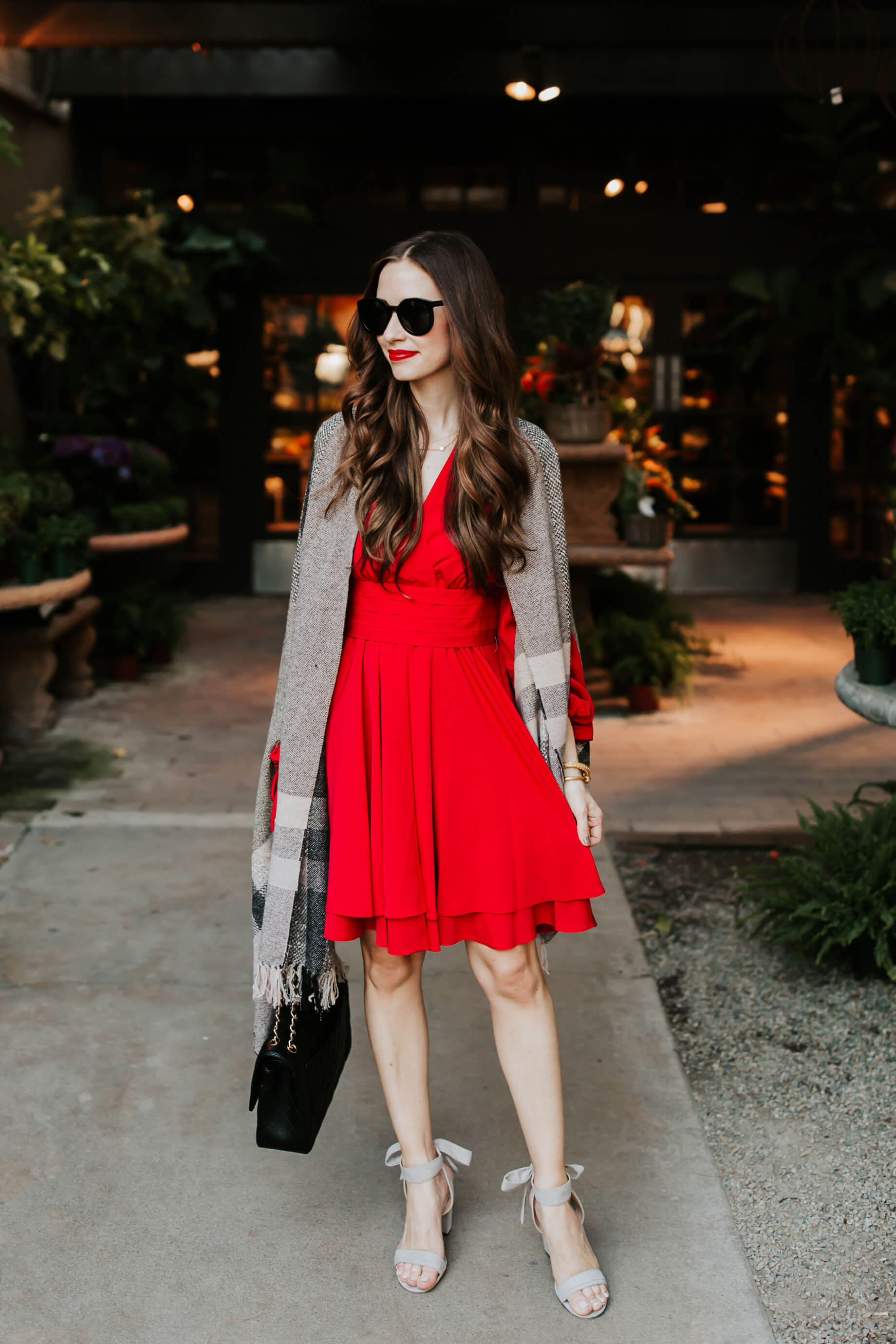 a little red dress for Fall - M Loves M @marmar