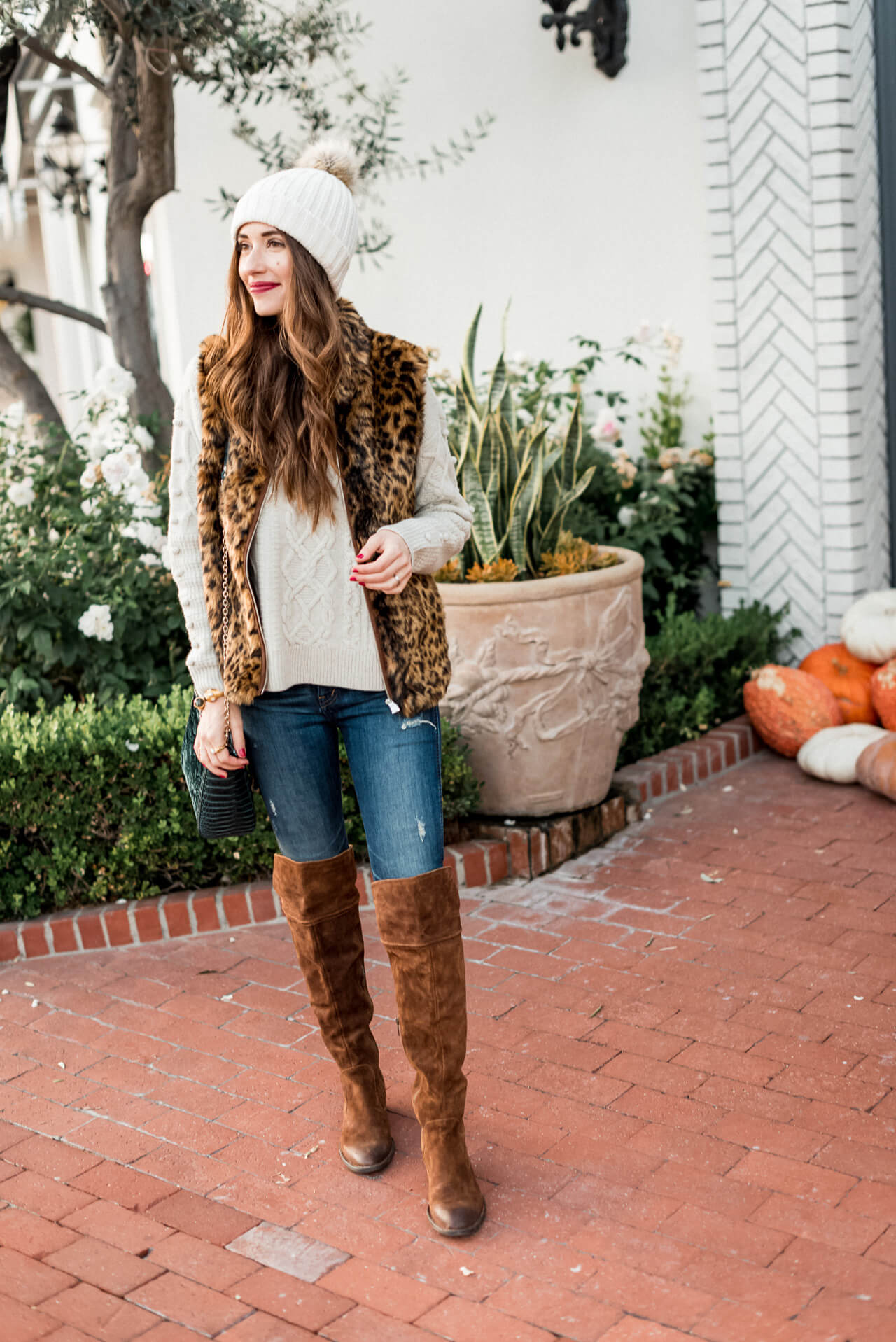 a classy and cozy look for fall in Southern California - M Loves M @marmar