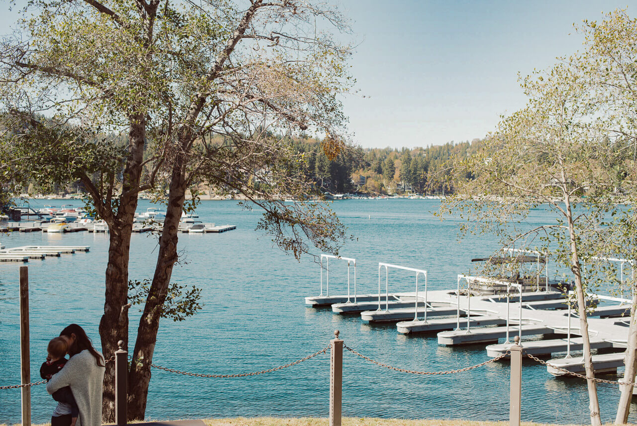 Stunning captures of lake arrowhead during the fall