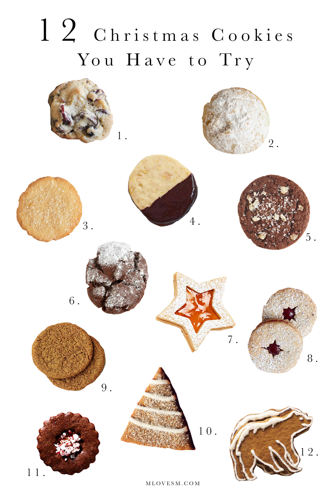 12 Christmas Cookies You Have to Try! - M Loves M @marmar