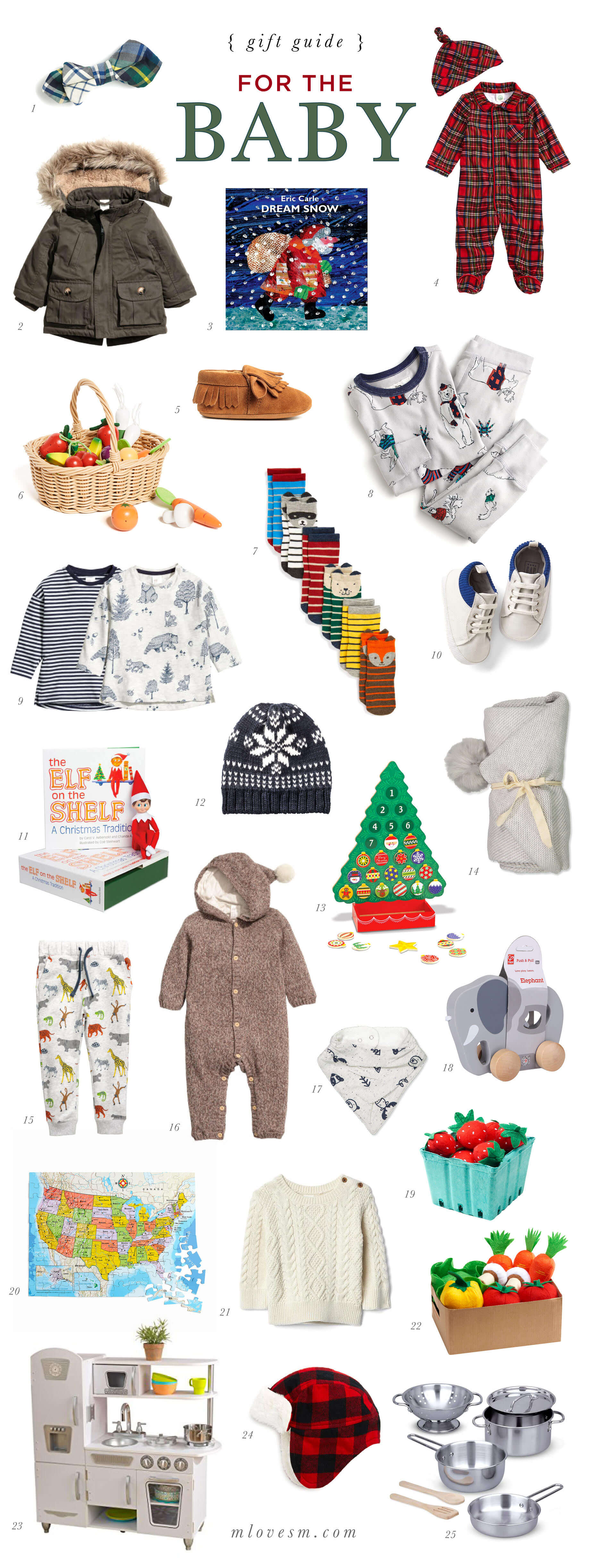 A Holiday Gift Guide for a Baby Boy - M Loves M @marmar