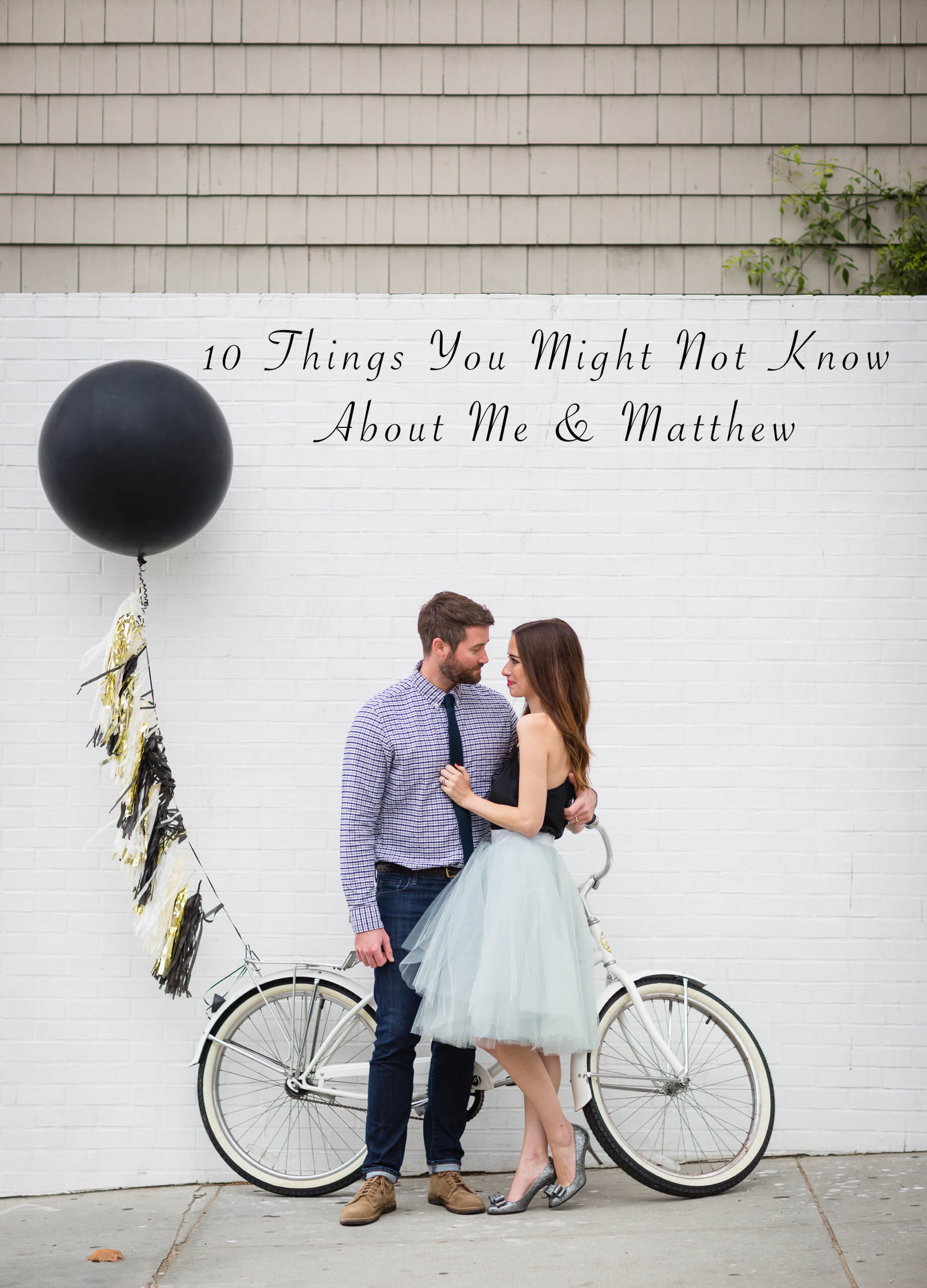 10 Things You Might Not Know about Mara and Matthew - M Loves M