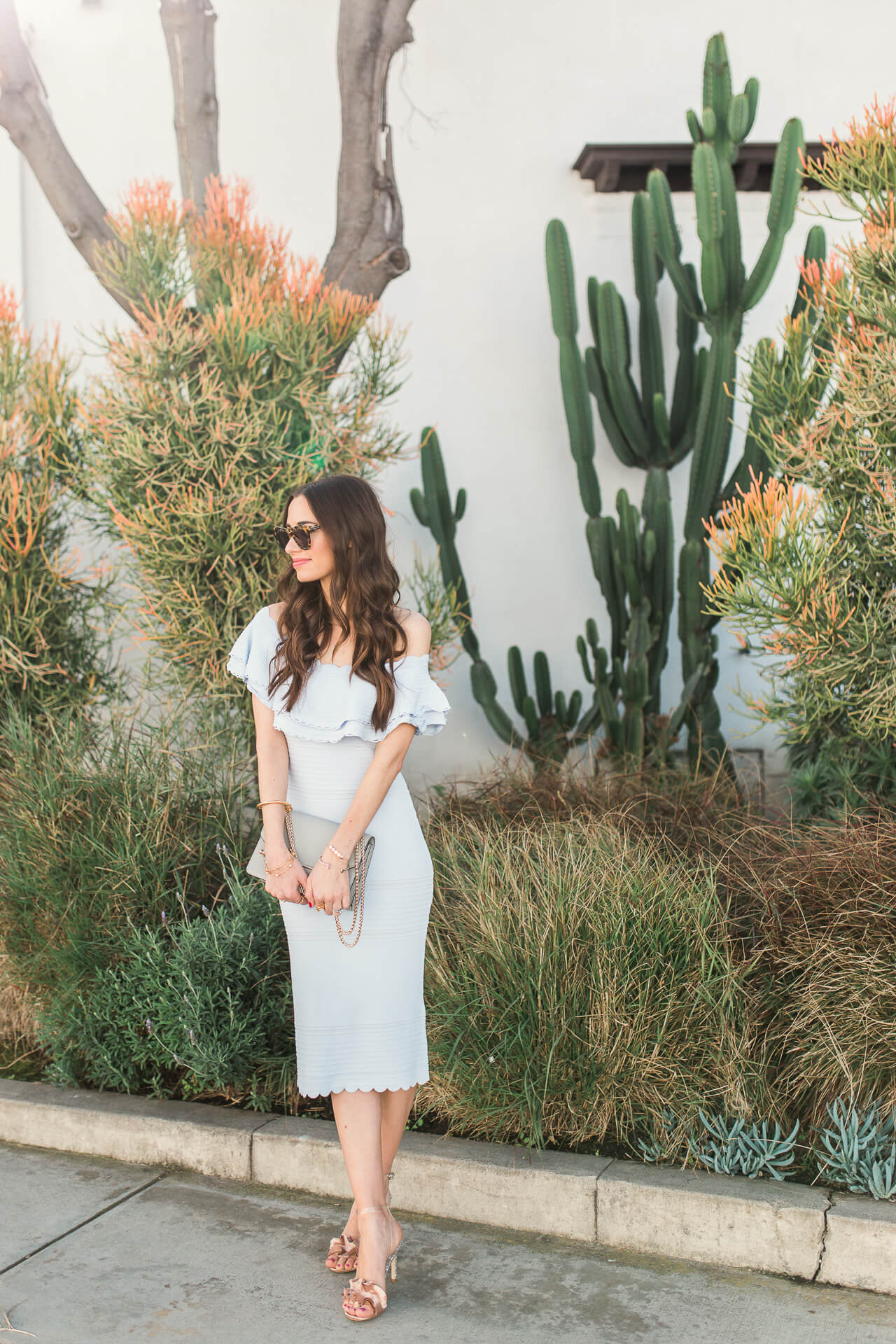 a feminine and pretty dress for spring - M Loves M @marmar
