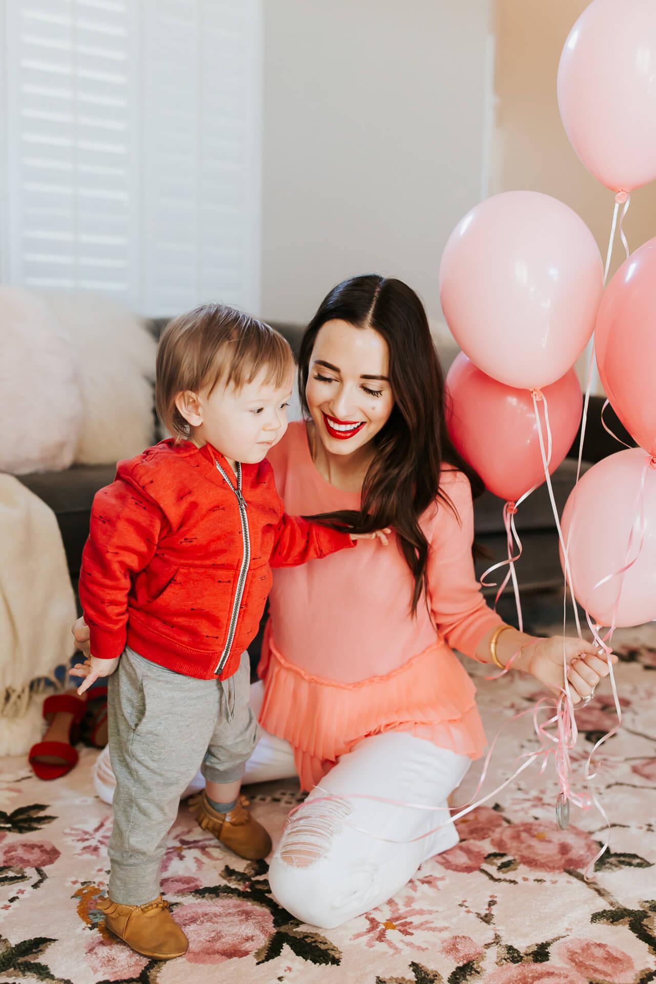 M Loves M My Littlest Valentine - Mara and Augustine