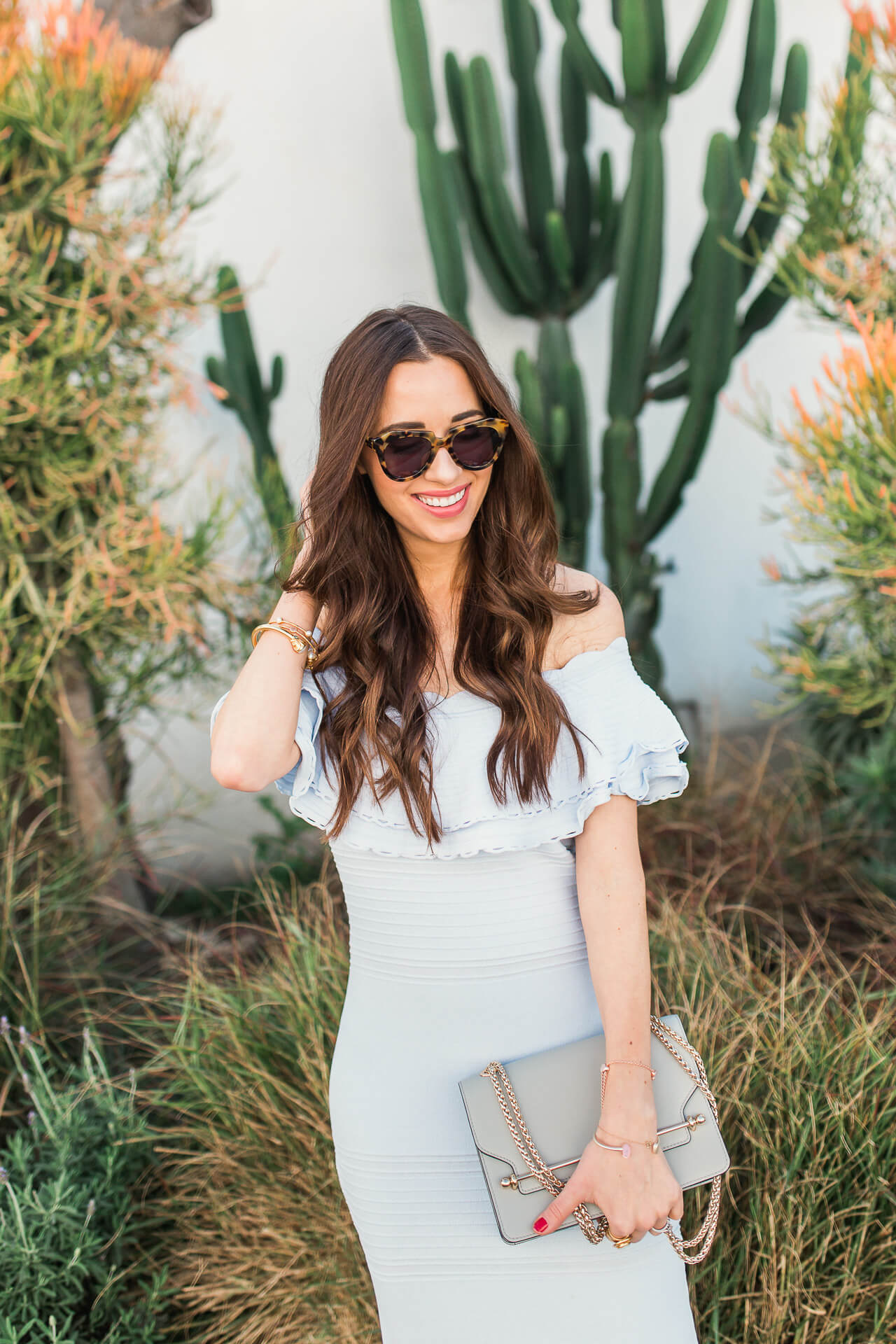 feminine and classic outfit inspiration from LA and OC fashion blogger M Loves M @marmar