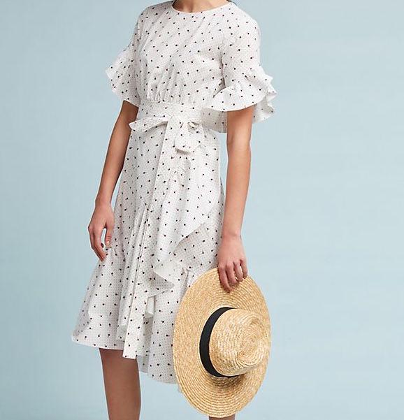 Cute Cynthia Rowley dress for spring
