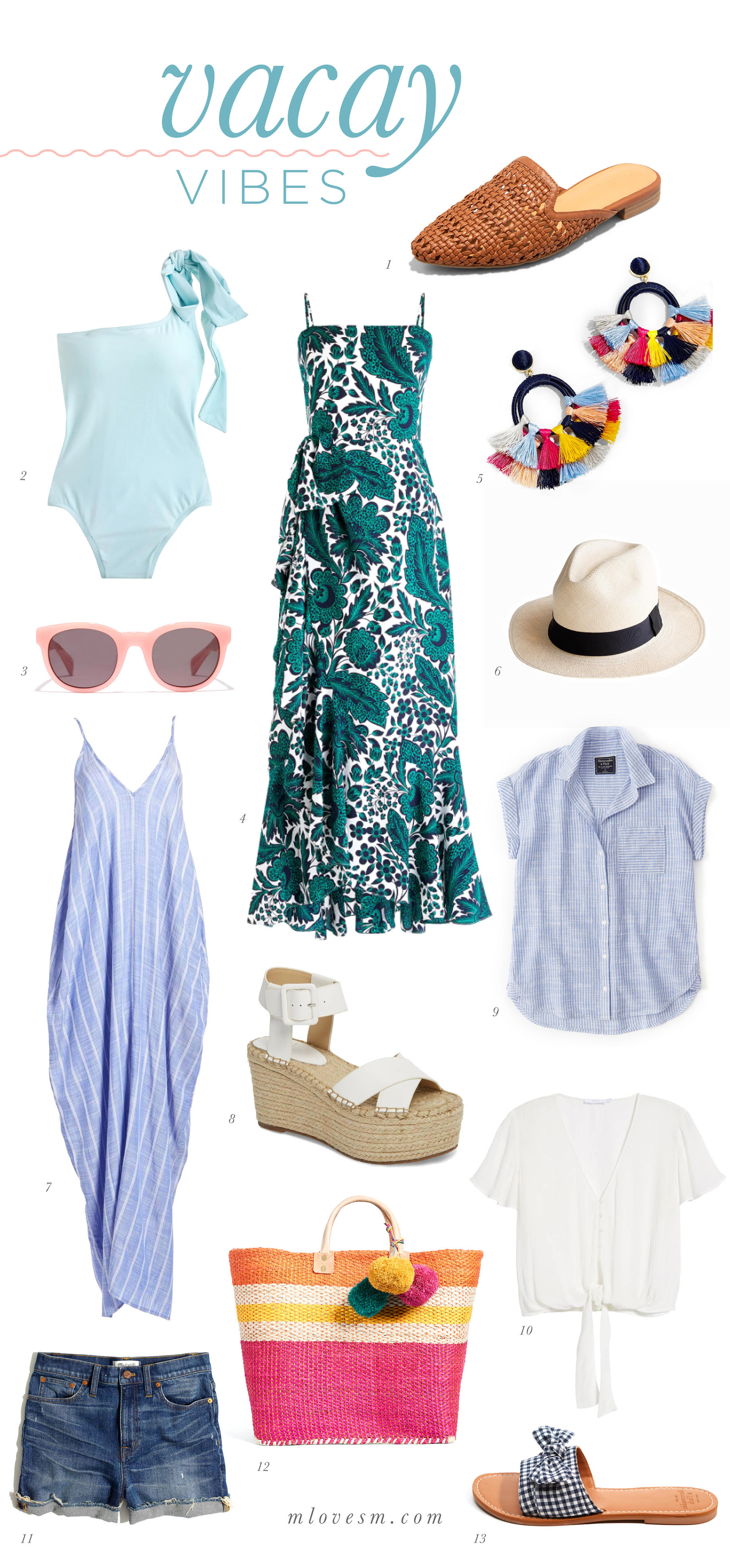 Vacay Vibes - Tropical Outfit Inspiration for hawaii trip - M Loves M