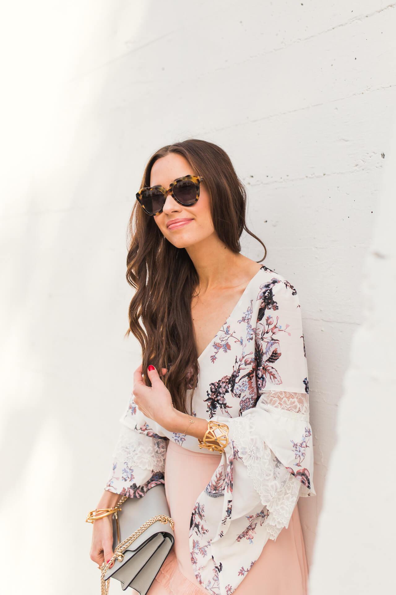 love this cute feminine blouse  for spring
