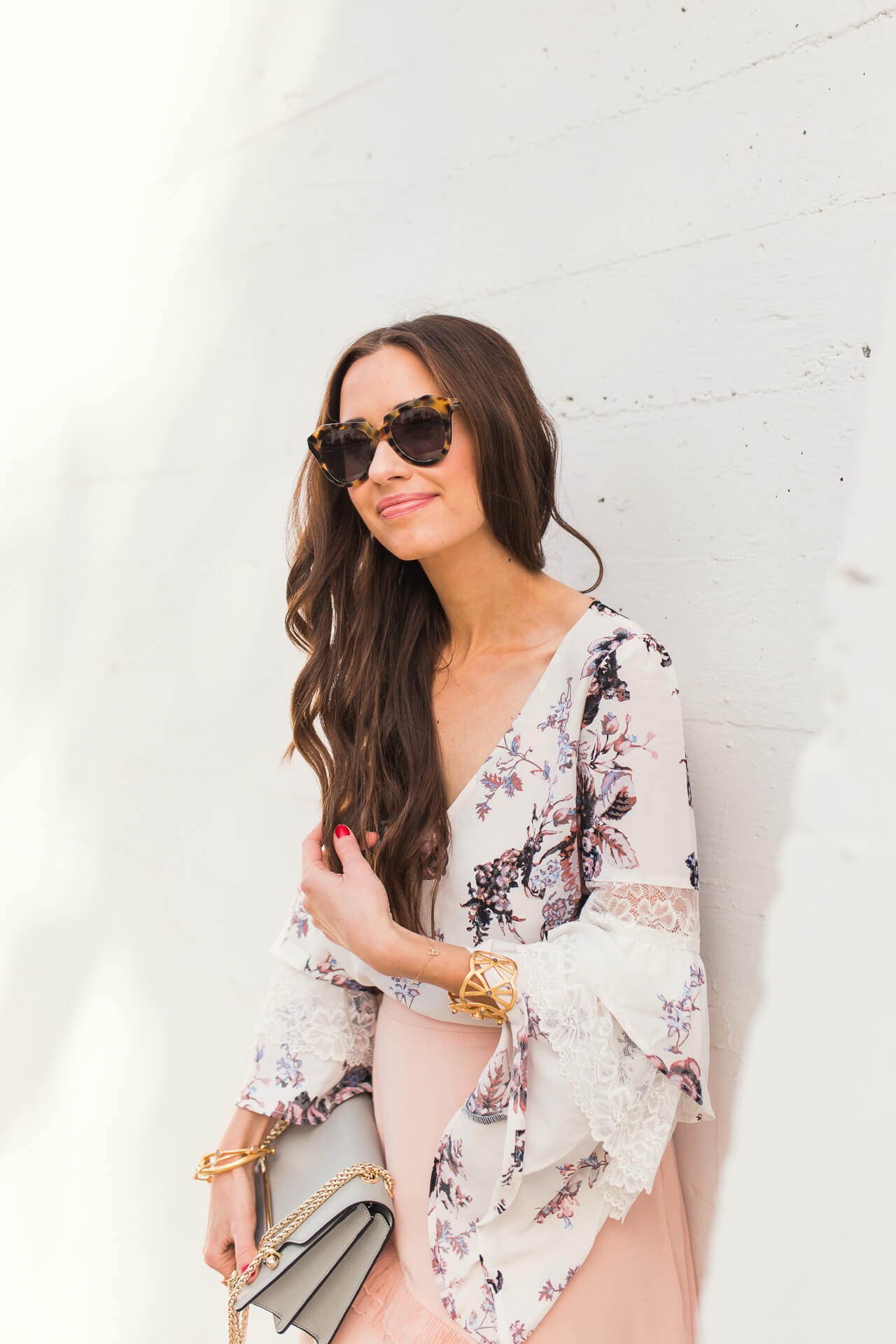 love this cute feminine blouse  for spring