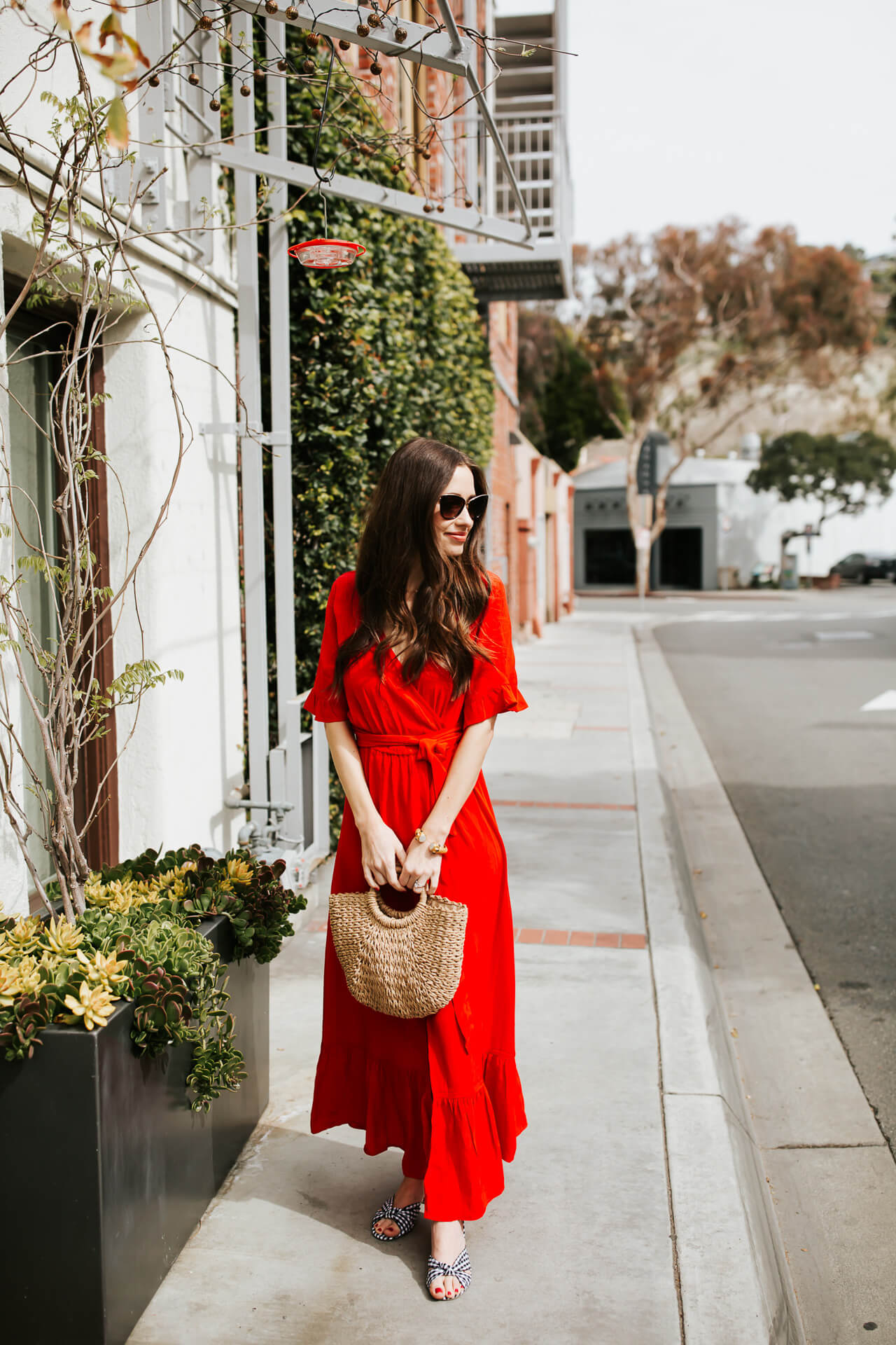how to style a wrap dress for summer - M Loves M @marmar