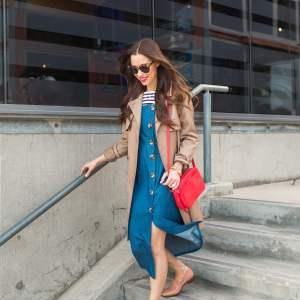 layering for rain in california - M Loves M Los Angeles Orange County feminine fashion blogger @marmar
