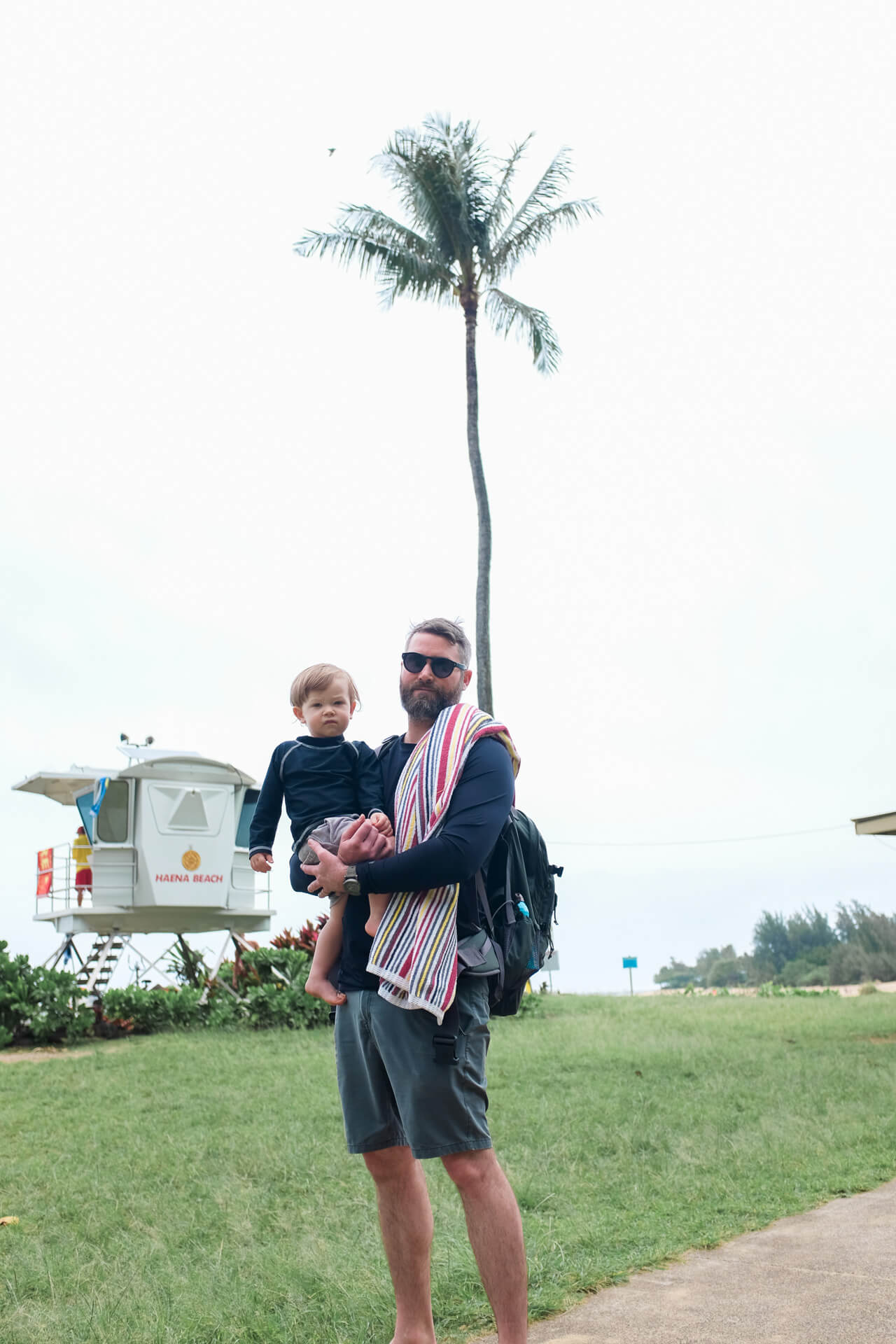 Matthew and Augustine go to the beach
