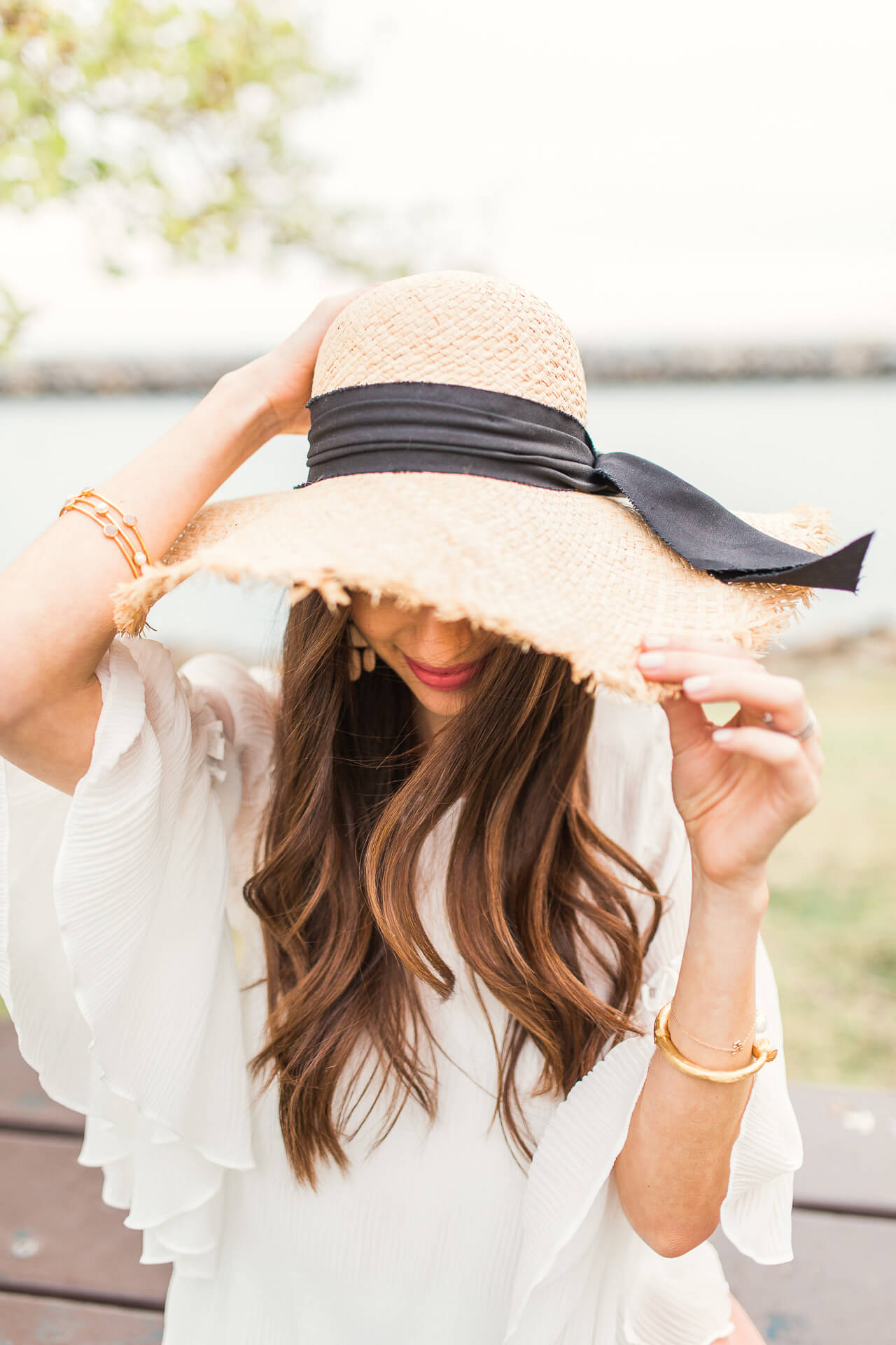 the best straw hat for spring