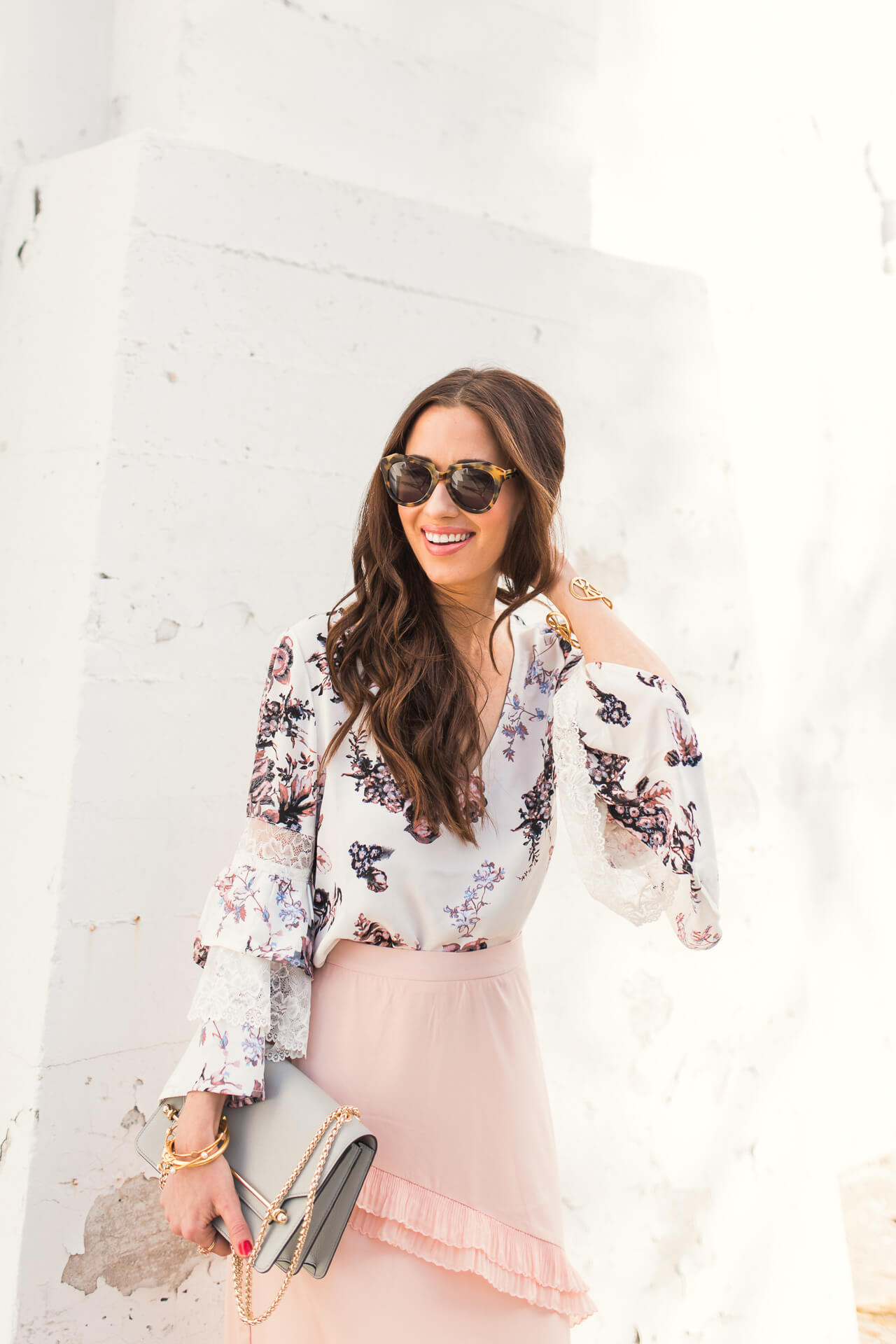 cute outfit inspiration - what to wear to a spring party or baby shower