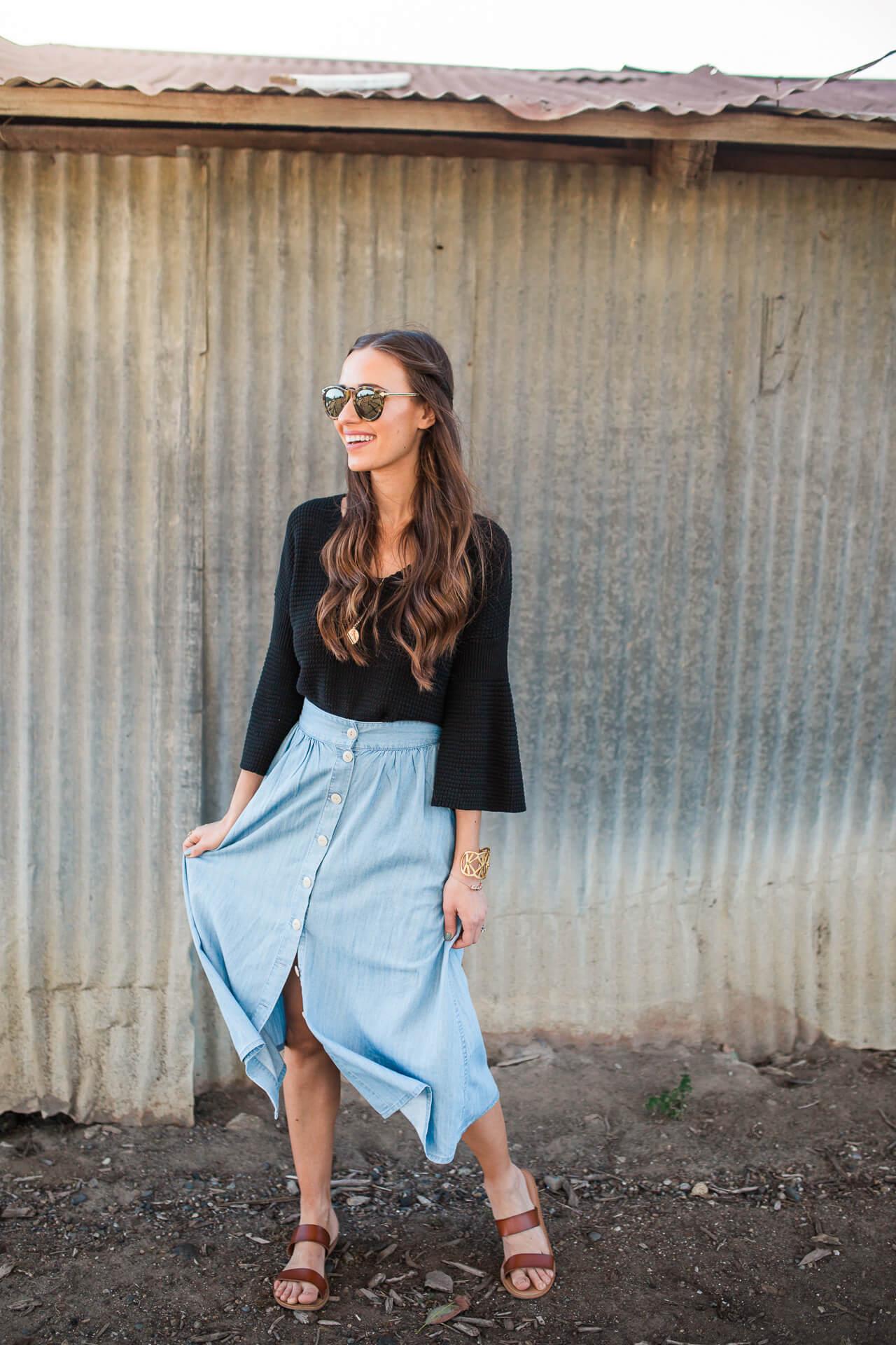 feminine fashion blogger outfit inspiration - M Loves M @marmar