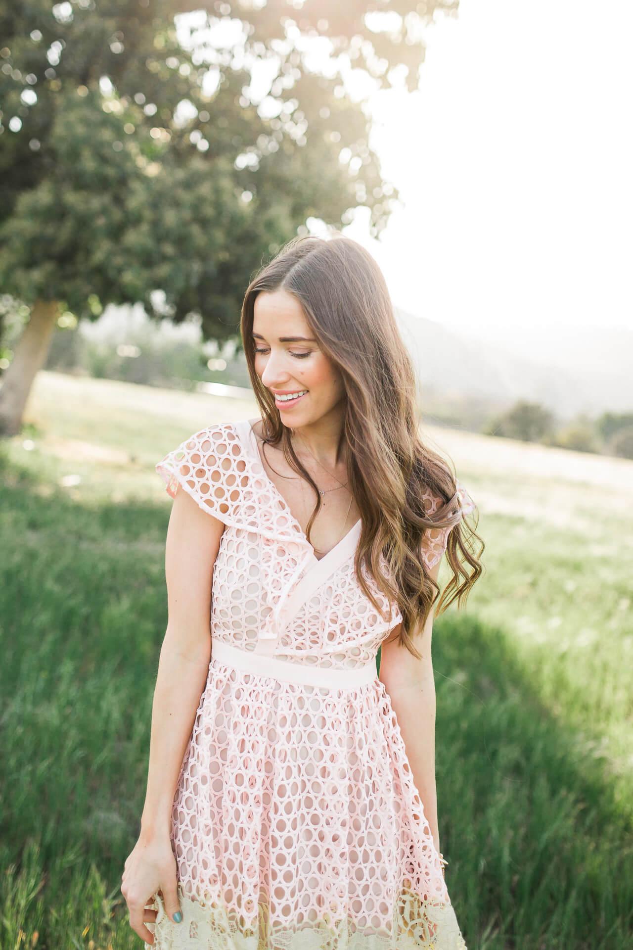 the prettiest spring dress on Mara Ferreira M Loves M OC and LA fashion blogger @marmar