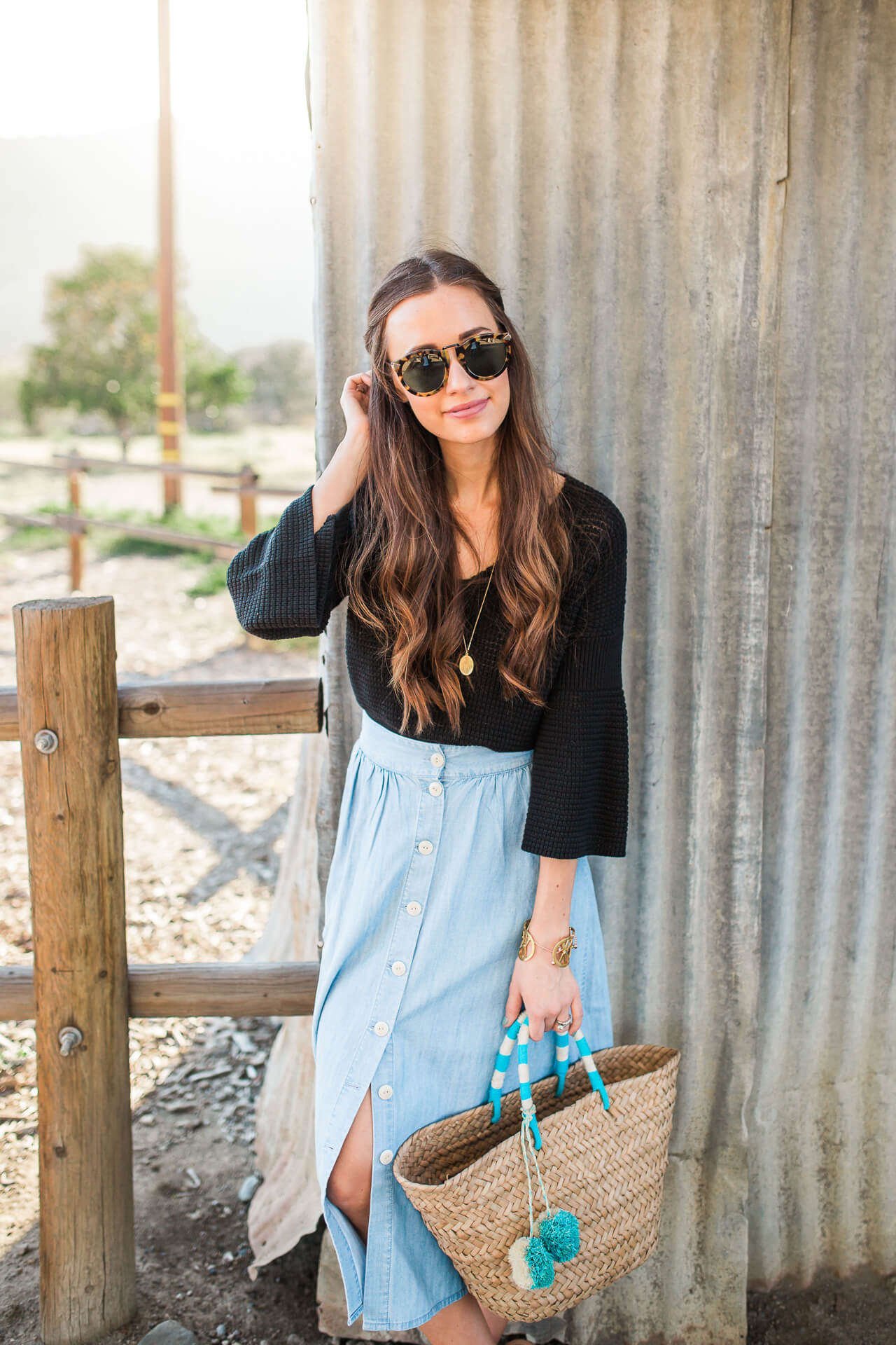 outfit inspiration for spring - M Loves M Los Angeles fashion blogger @marmar