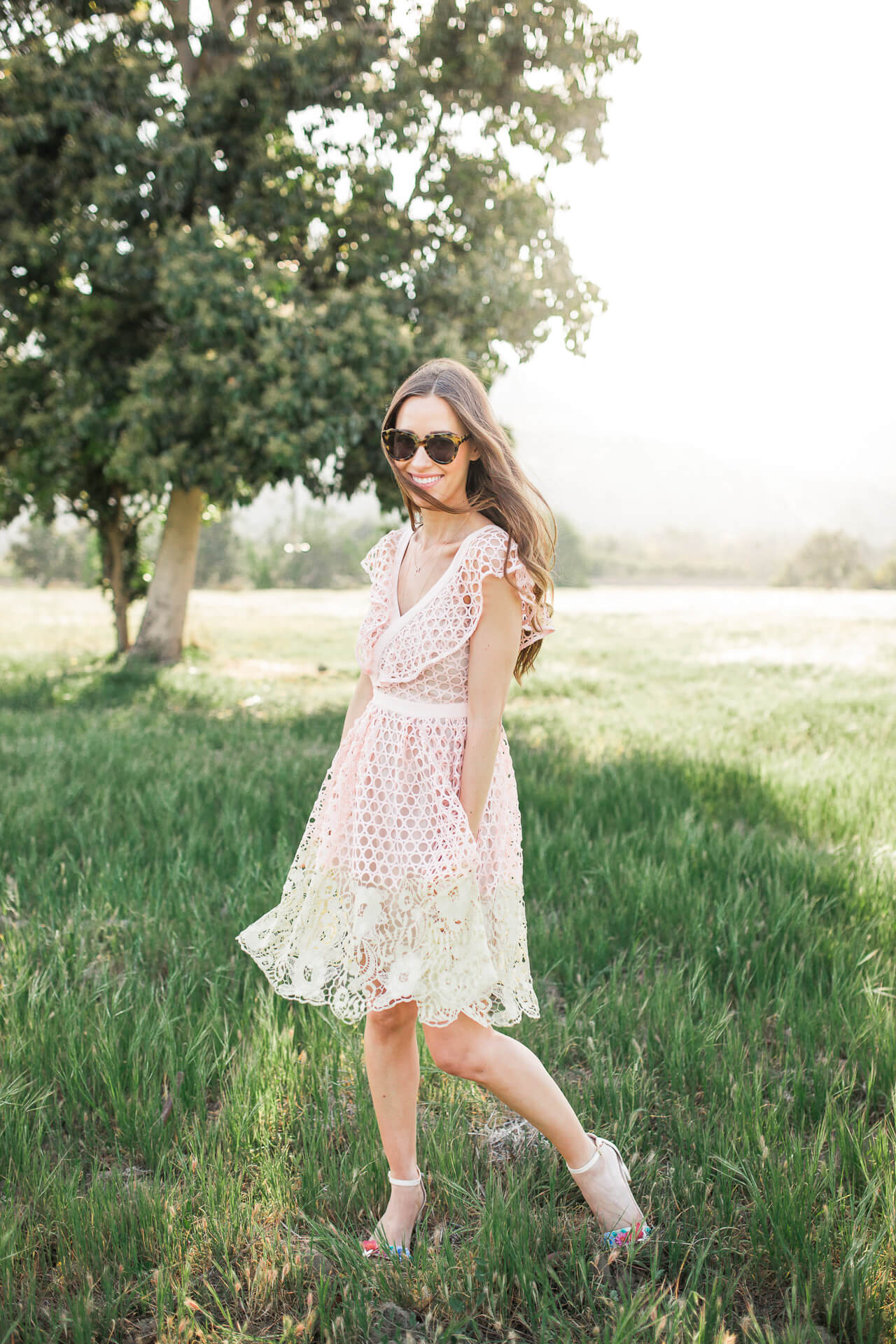 the prettiest spring dress - it looks way more expensive than it is! - M Loves M @marmar
