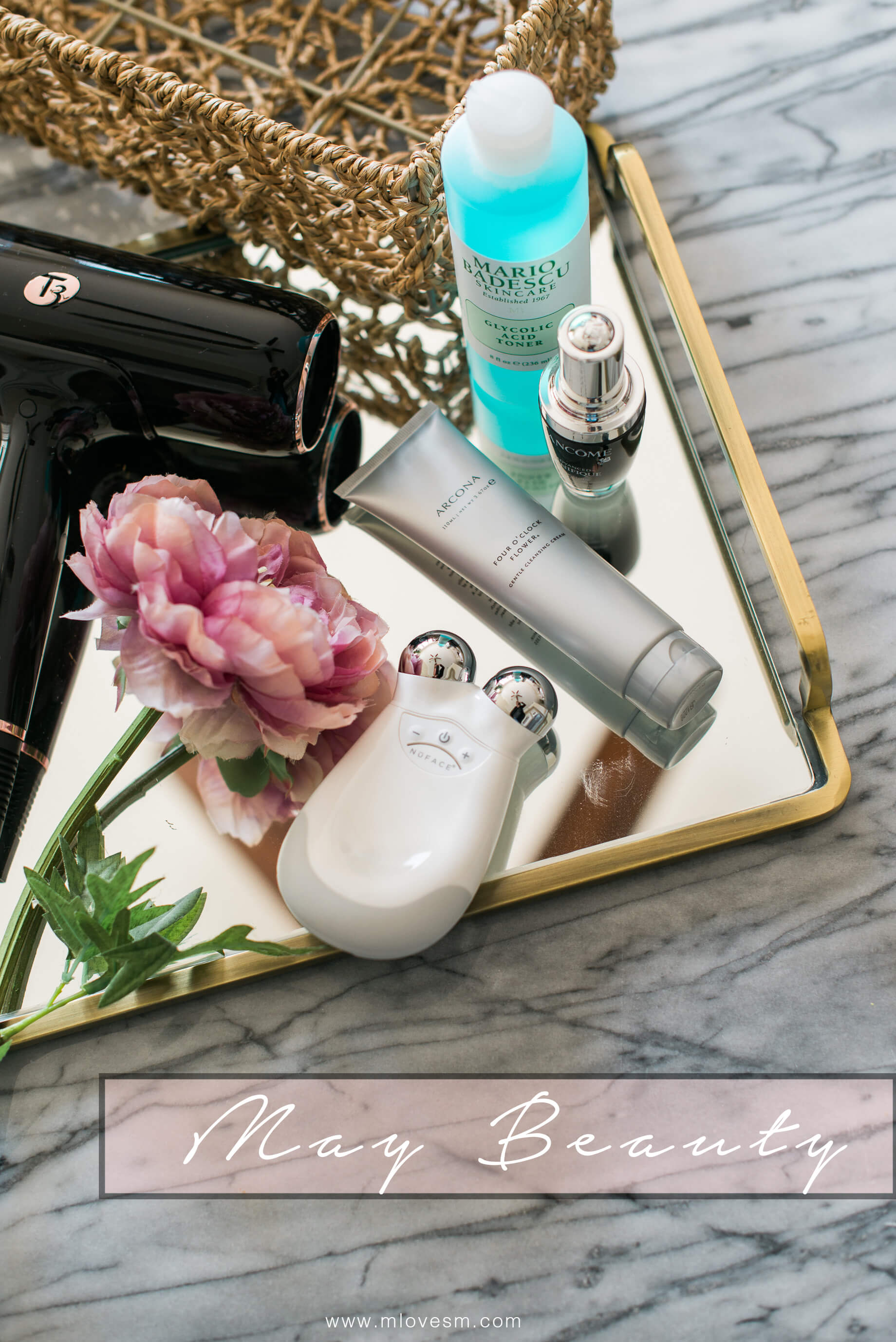 May Beauty- Check out my reviews of the skincare and beauty products I tried in April and see which products I can't wait to test out in May. | M Loves M @marmar