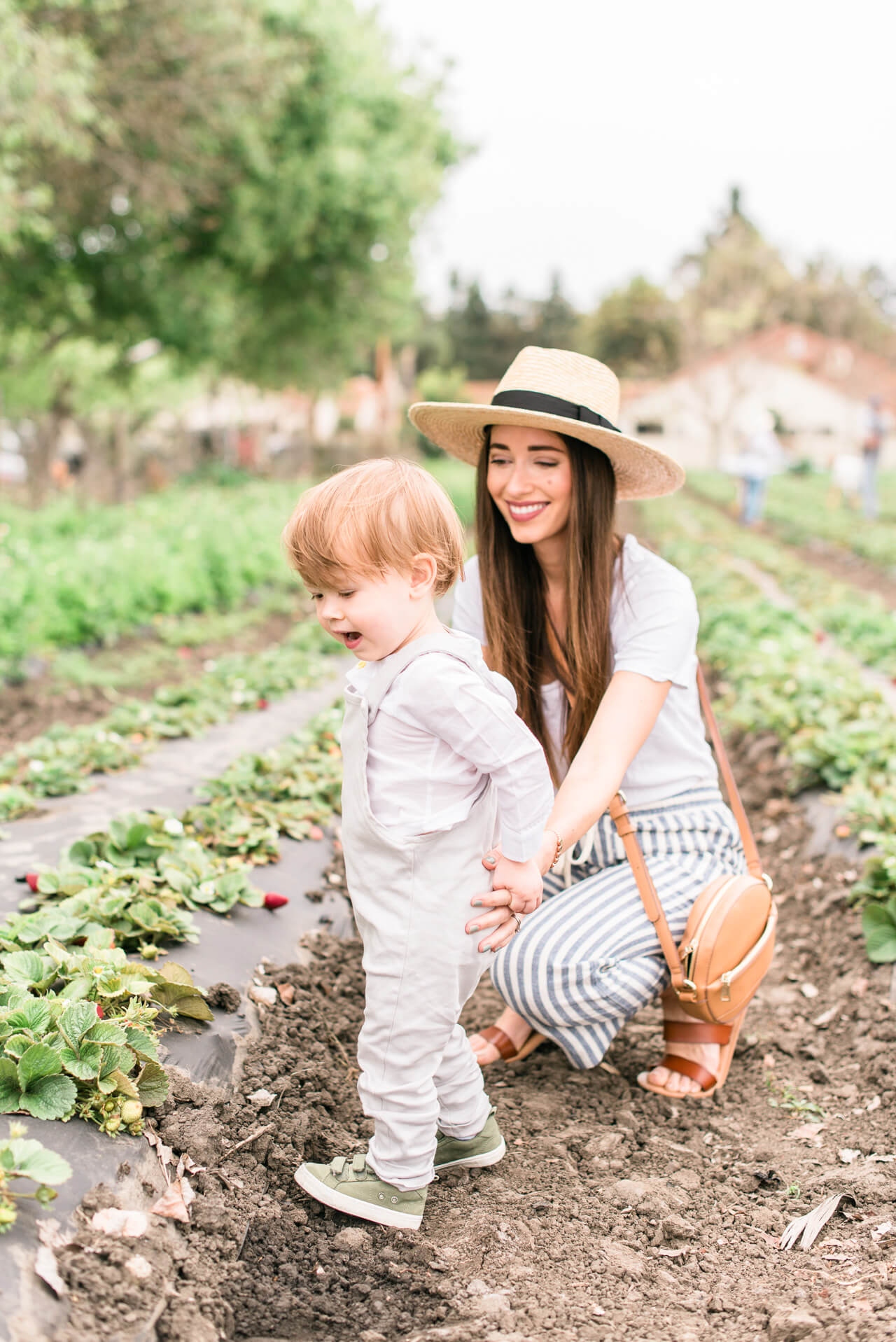 I loved visiting this adorable farm with my family this spring!