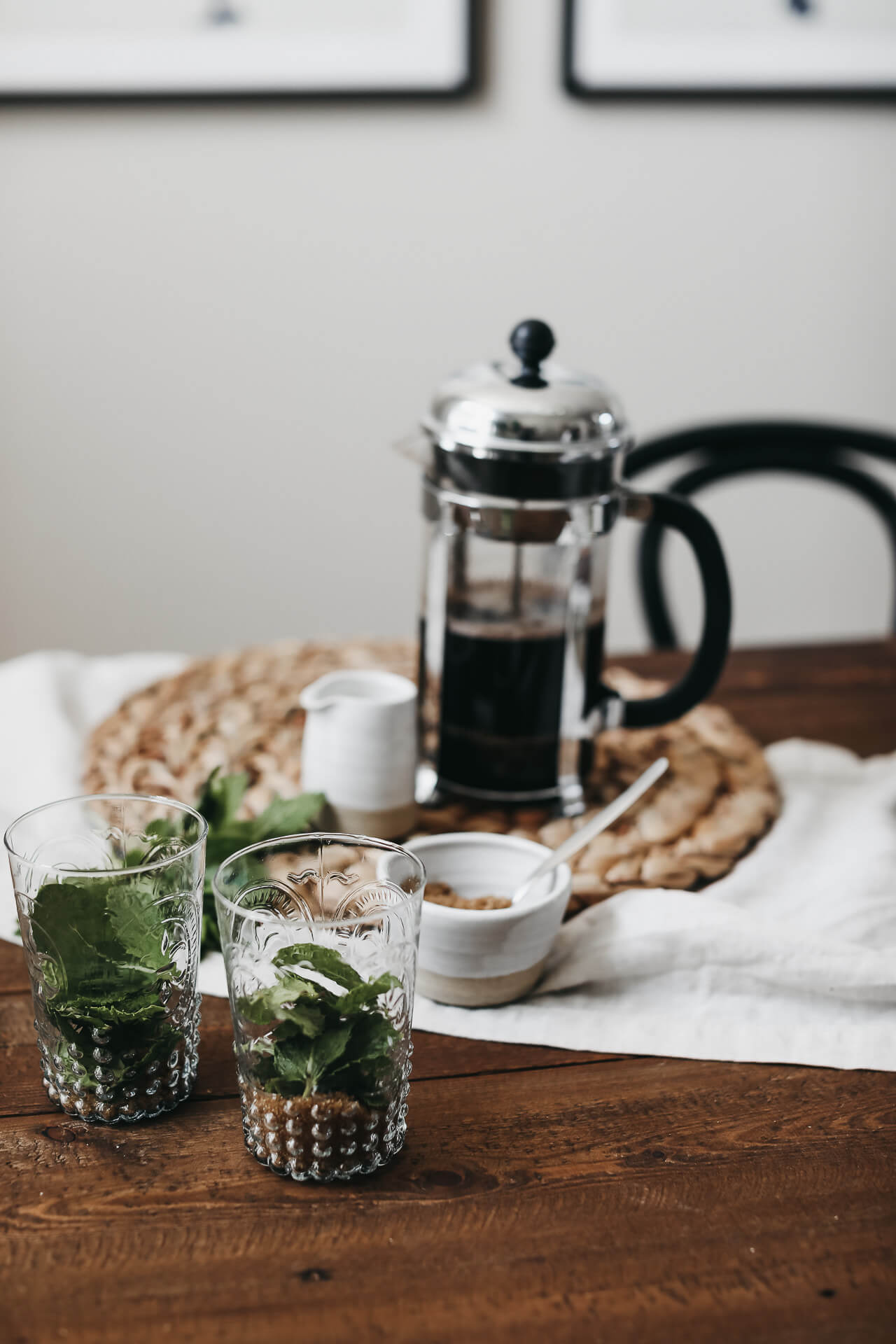 Mint mojito inspired coffee? Yes please! | M Loves M @marmar