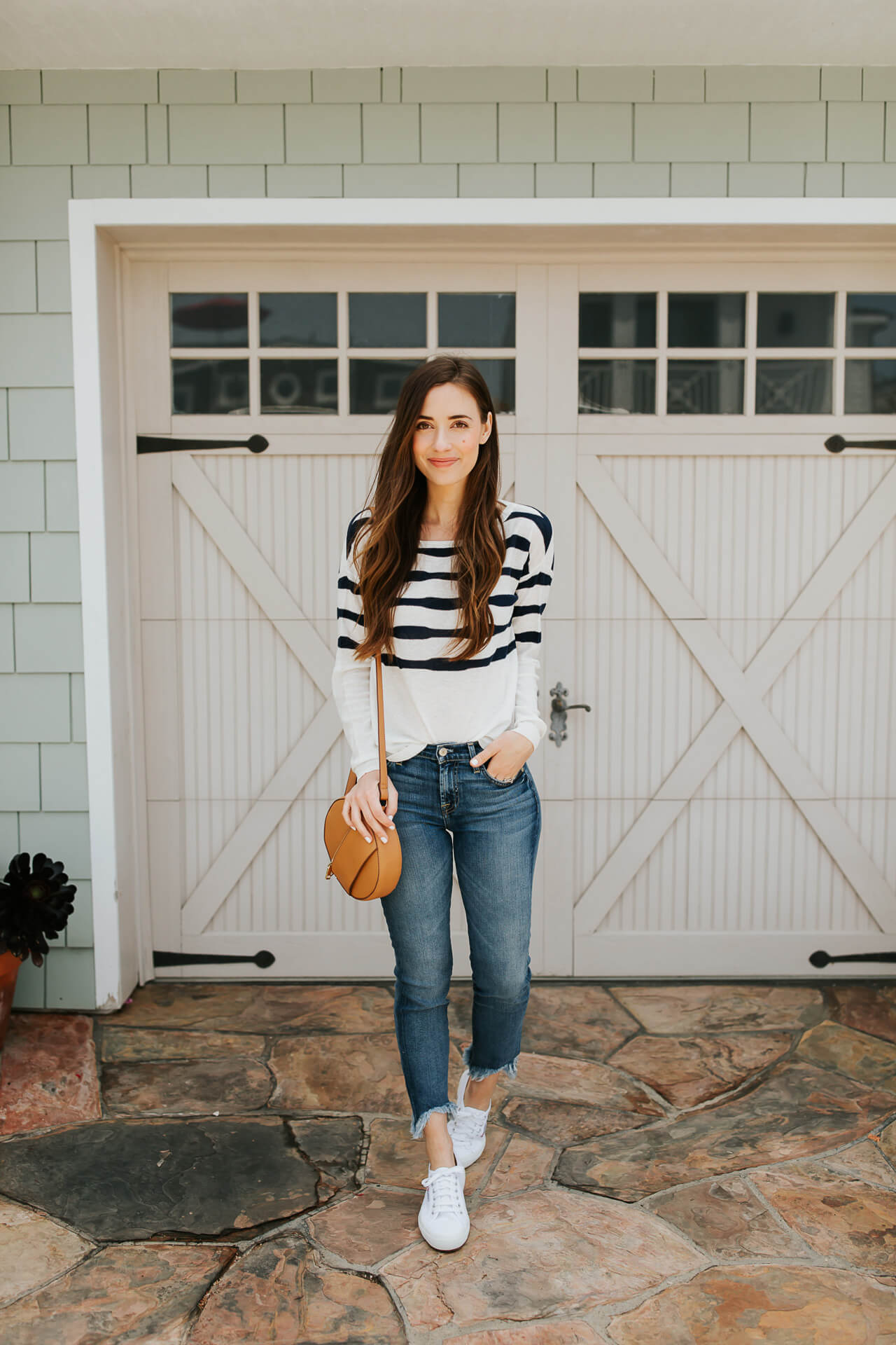 This is the jean and sweater combo I've been loving on the weekends lately! | M Loves M @marmar