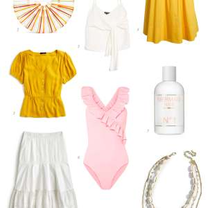 I'm so obsessed with this pink and yellow color combo for spring and summer.   M Loves M @marmar