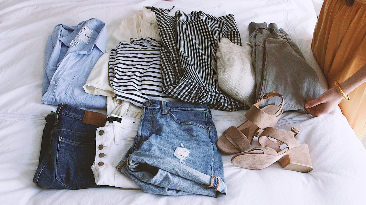How to pack a capsule wardrobe! | M Loves M @marmar