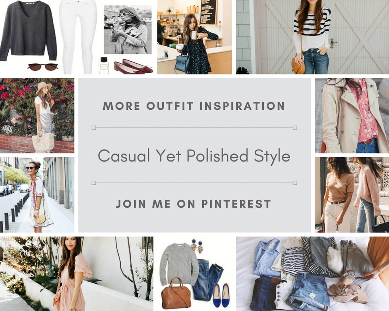 Follow my casual but polished style board! | M Loves M @marmar