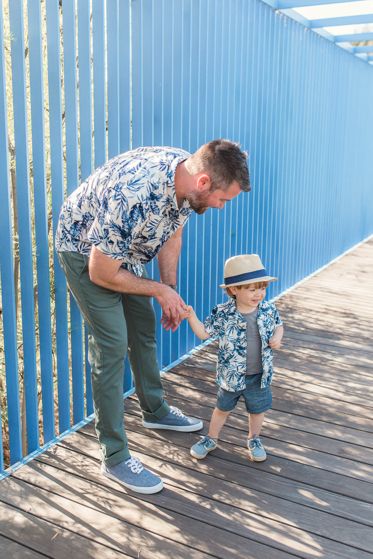 Matching father son outfits. | M Loves M @marmar