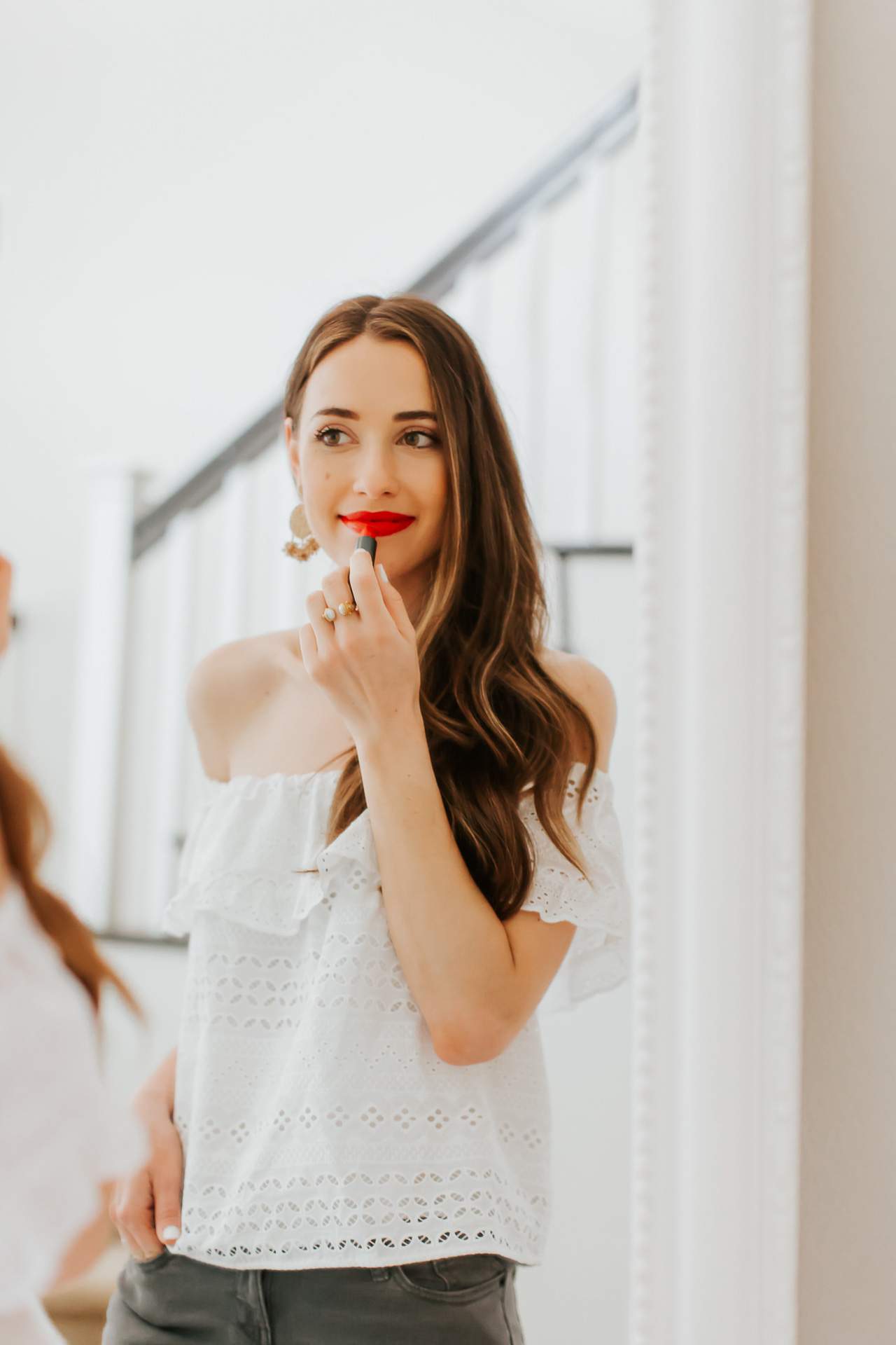The red-orange lipstick I wear every summer! | M Loves M @marmar