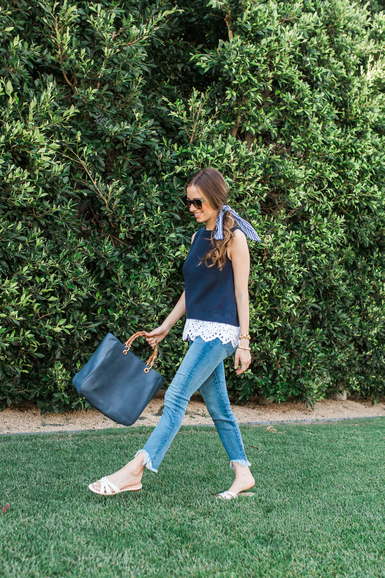 It's so hard knowing what to wear on casual Friday, but this cute, polished, and comfortable outfit does the trick! | M Loves M @marmar