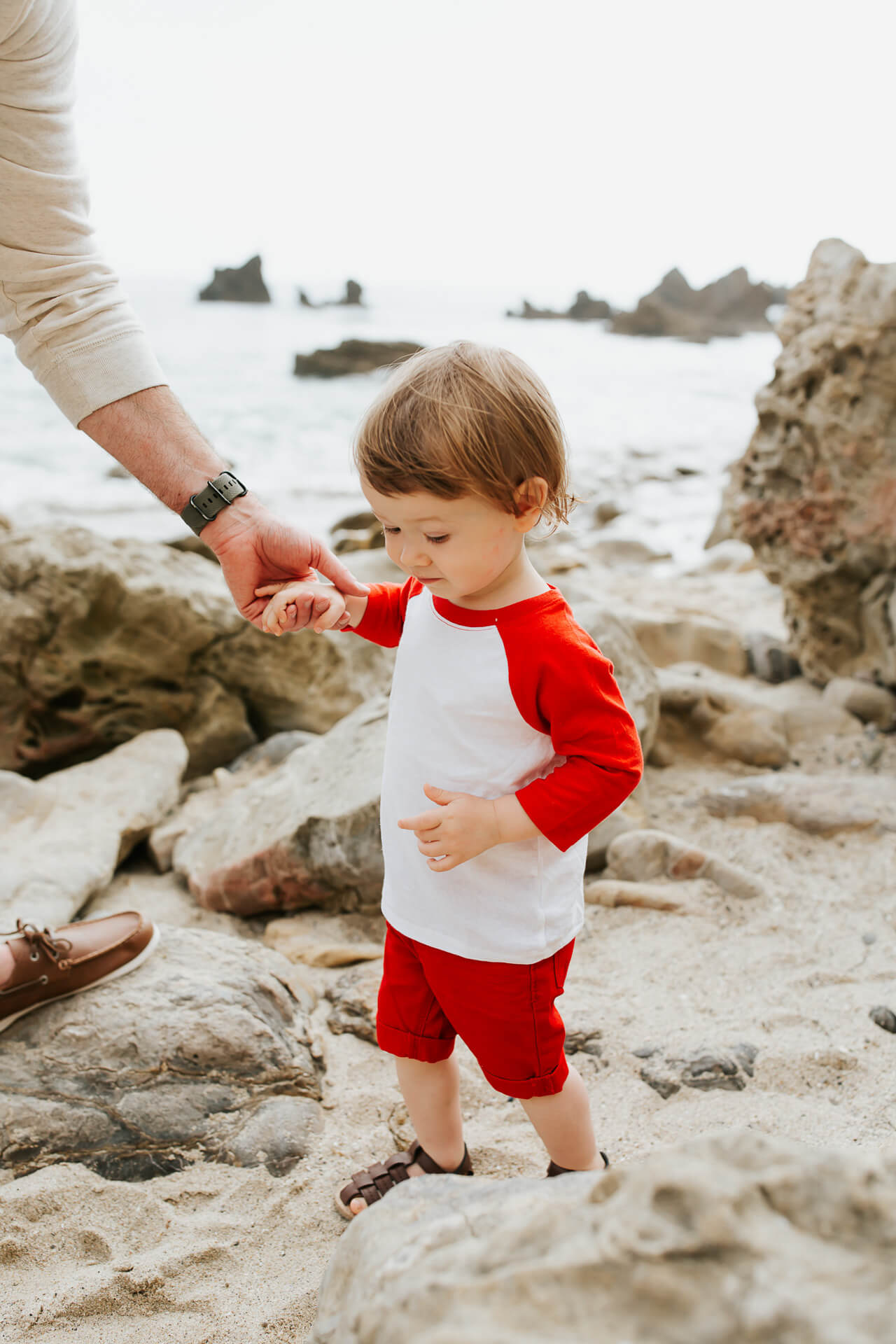 How to dress a toddler for summer beach days! | M Loves M @marmar