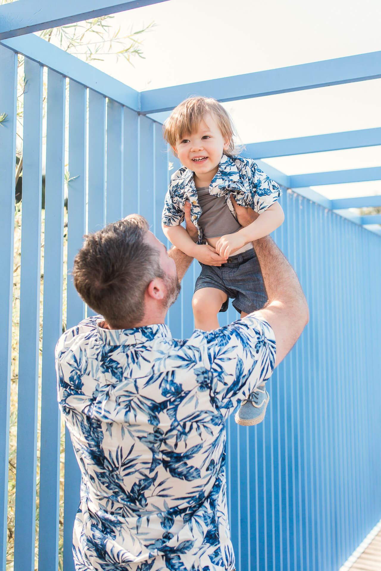 Matching father and son outfits for Father's Day! | M Loves M @marmar