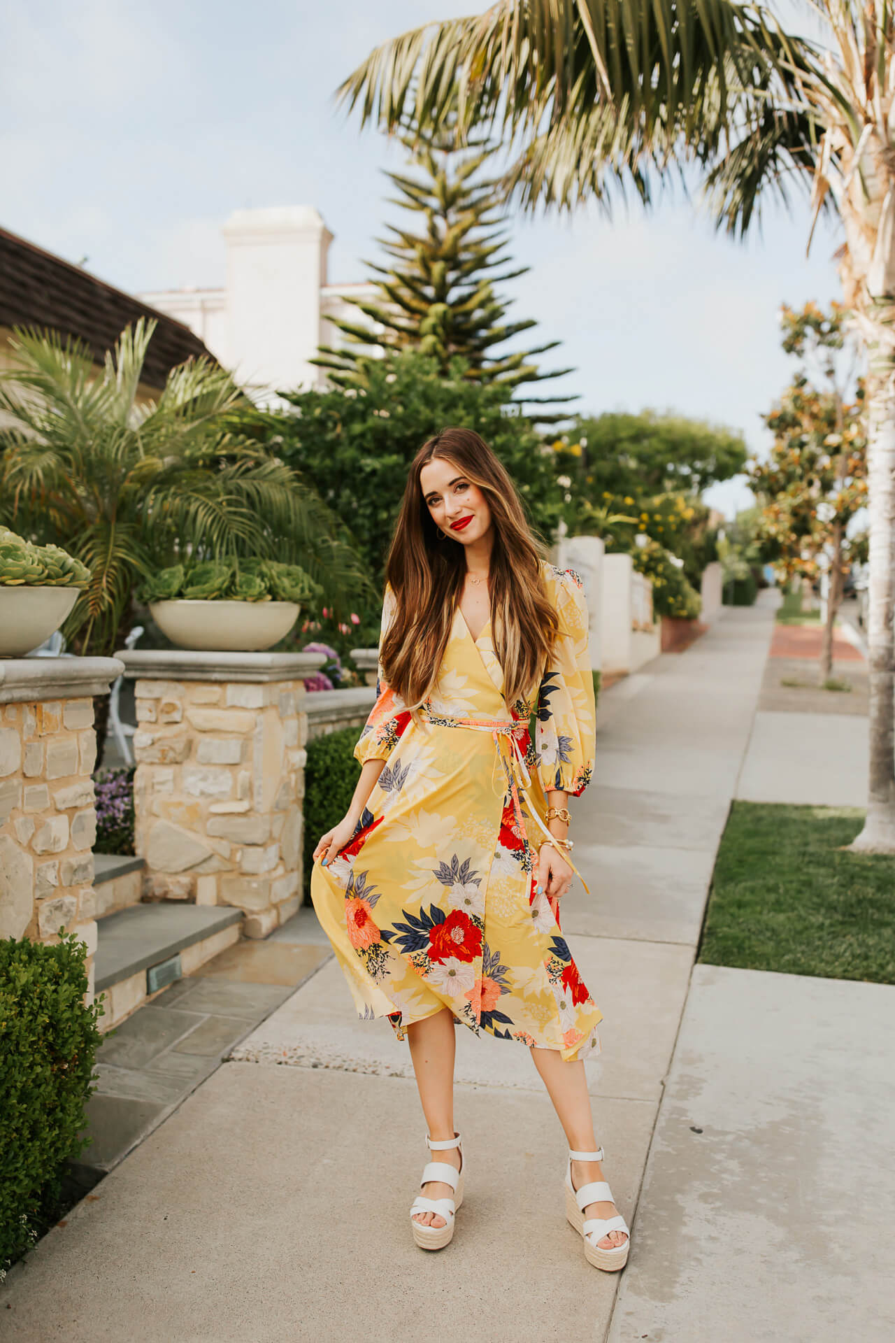 Summer style inspiration and outfit inspiration with wrap dresses. | M Loves M @marmar