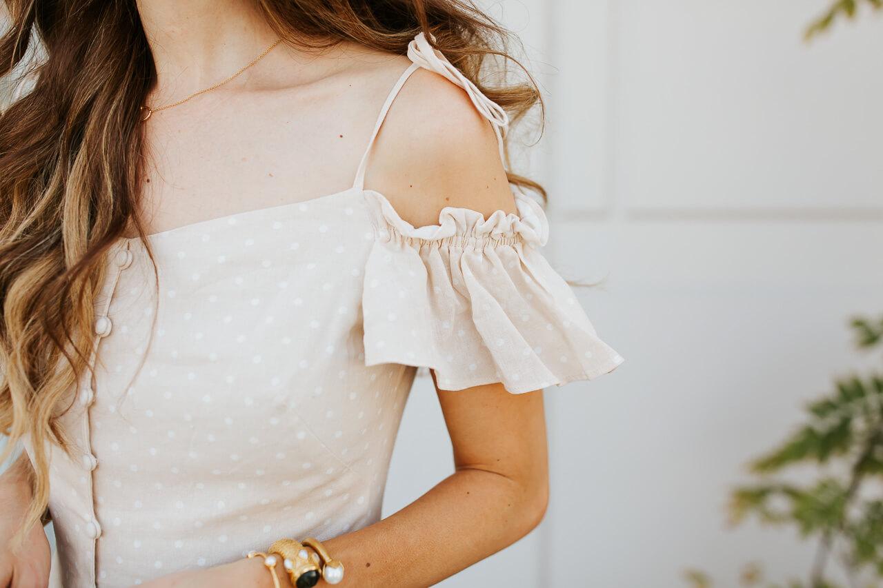I love a good off the shoulder dress! | M Loves M @marmar