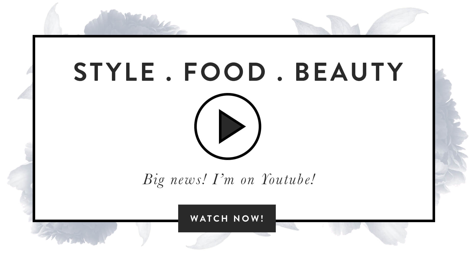 I'm on Youtube sharing style, beauty, food, and life advice! | M Loves M @marmar