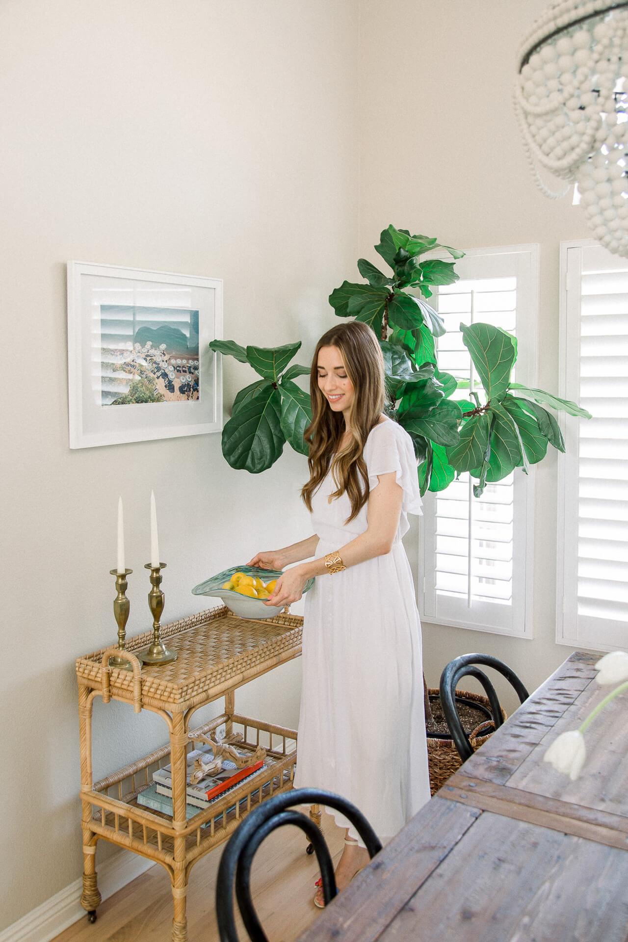 My beachy California home decor! | M Loves M @marmar