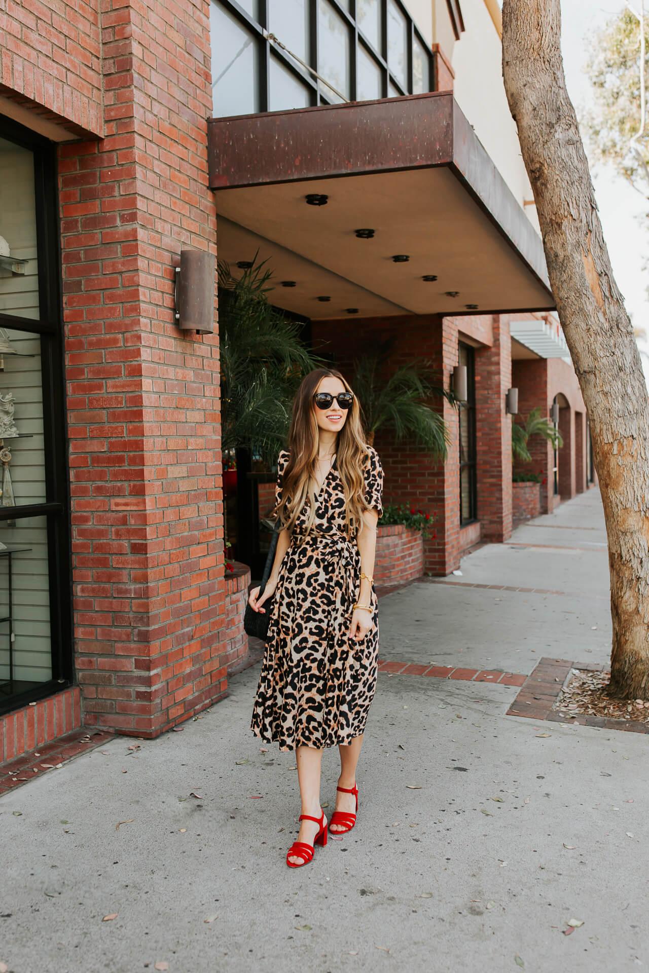I love this leopard dress! | M Loves M @marmar