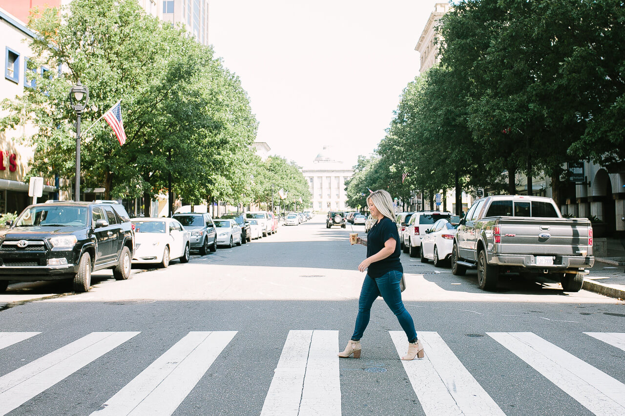 Kate Bryan of The Small Things Blog shares her perfect day in Raleigh. | M Loves M @marmar