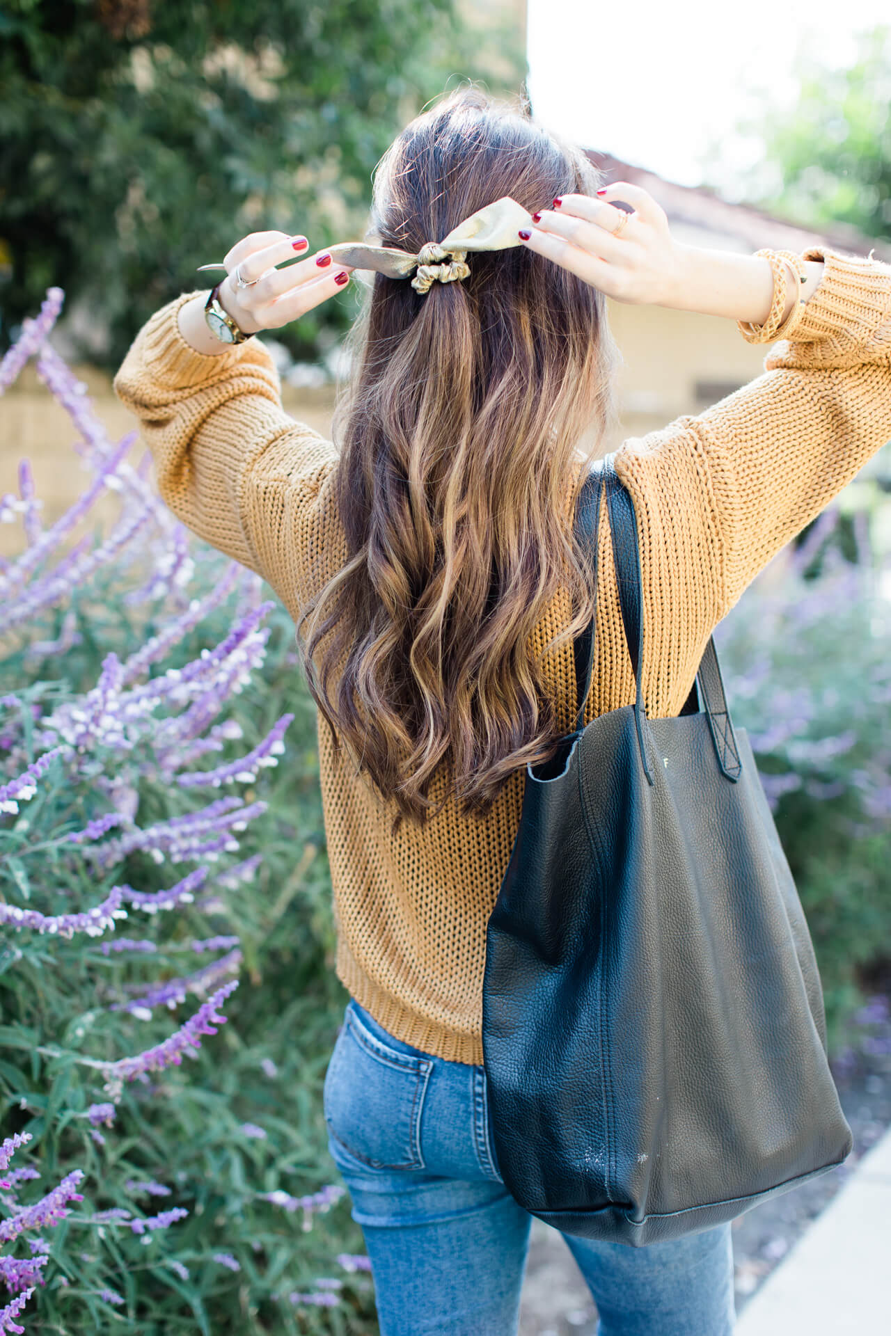 I tried a 14 day hair makeover with Pantene. Love this cute hair bow! - M Loves M @marmar