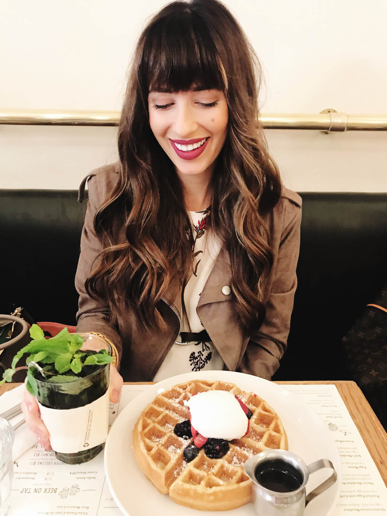 one of the best breakfasts in New York City - Jack's Wife Freda and the Rosewater Waffle - M Loves M @marmar